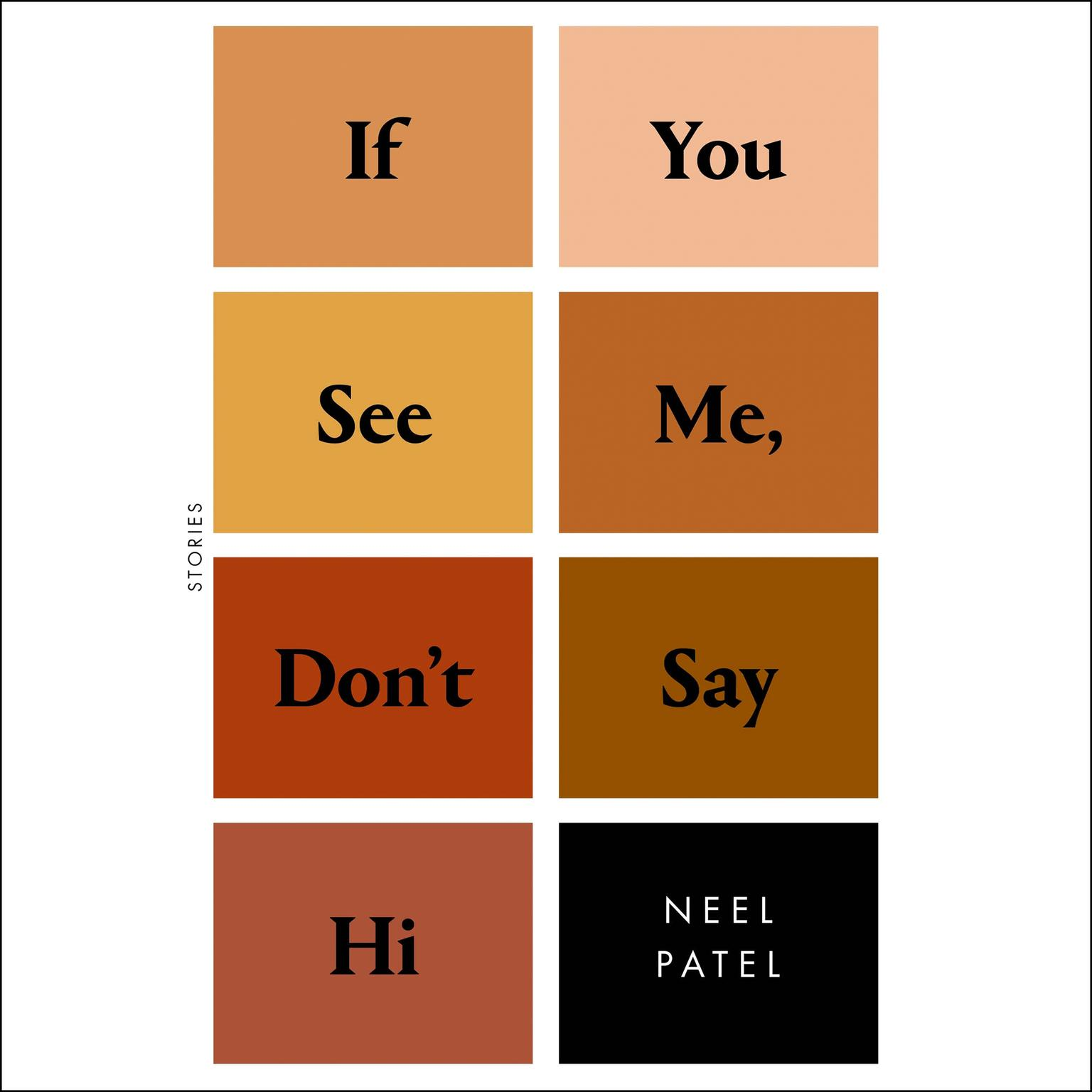 Printable If You See Me, Don't Say Hi: Stories Audiobook Cover Art