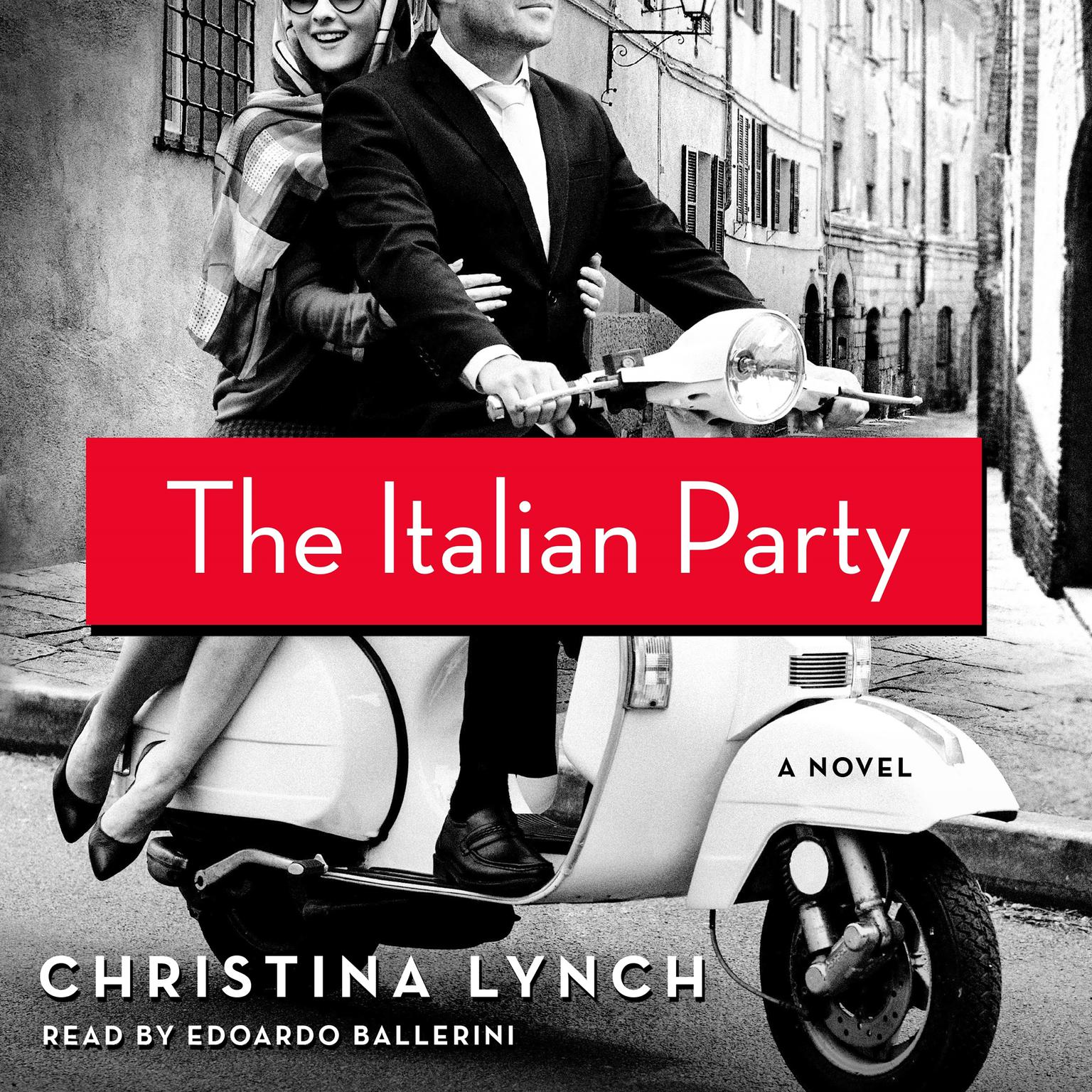 Printable The Italian Party: A Novel Audiobook Cover Art
