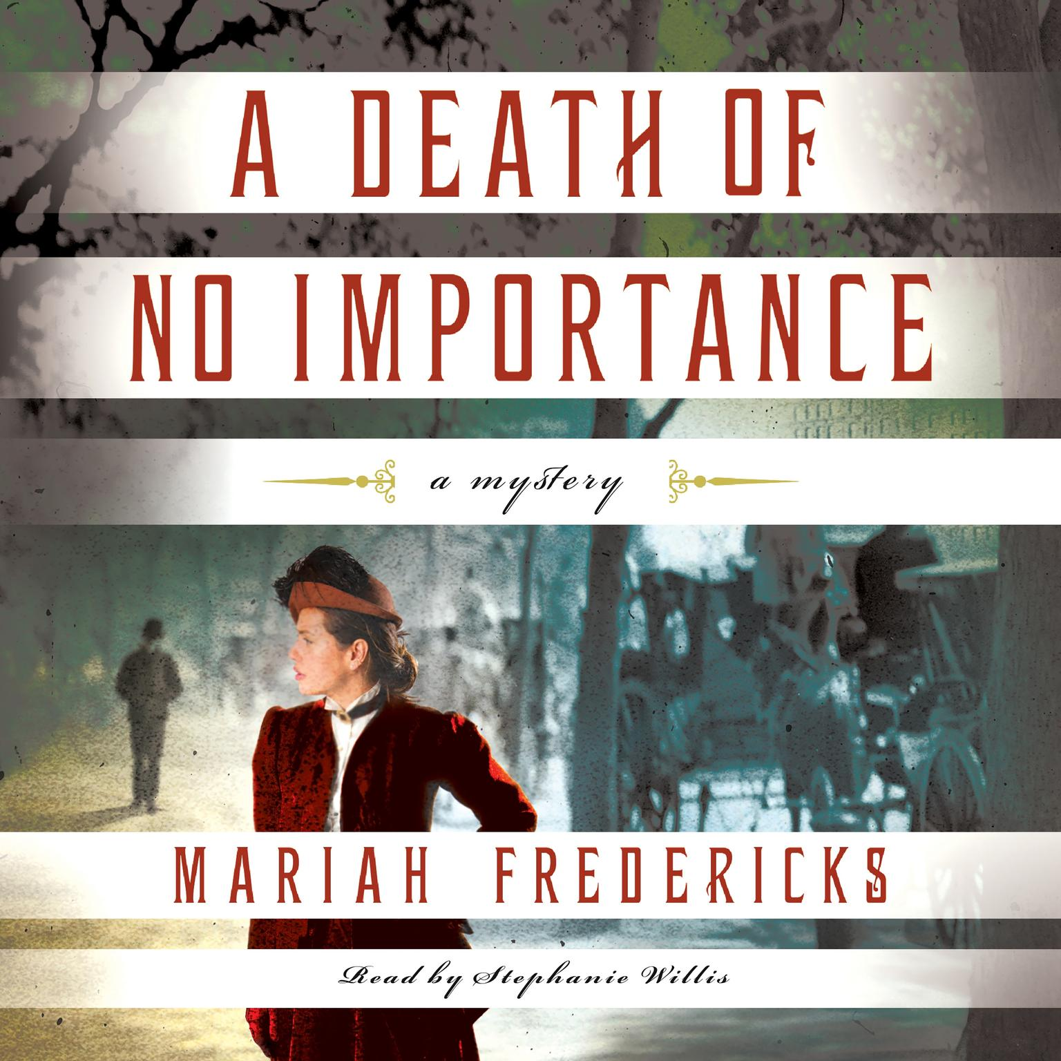 Printable A Death of No Importance Audiobook Cover Art