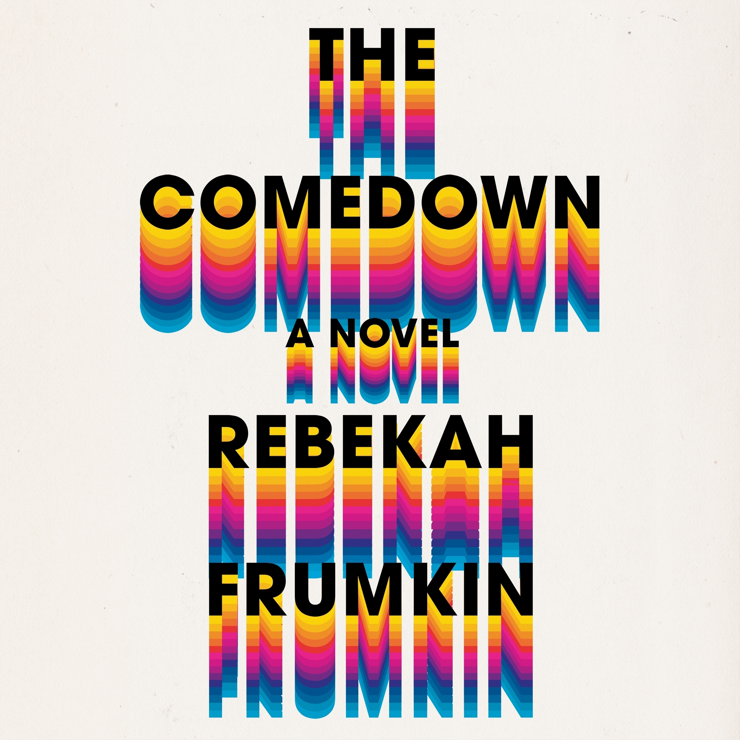 Printable The Comedown Audiobook Cover Art