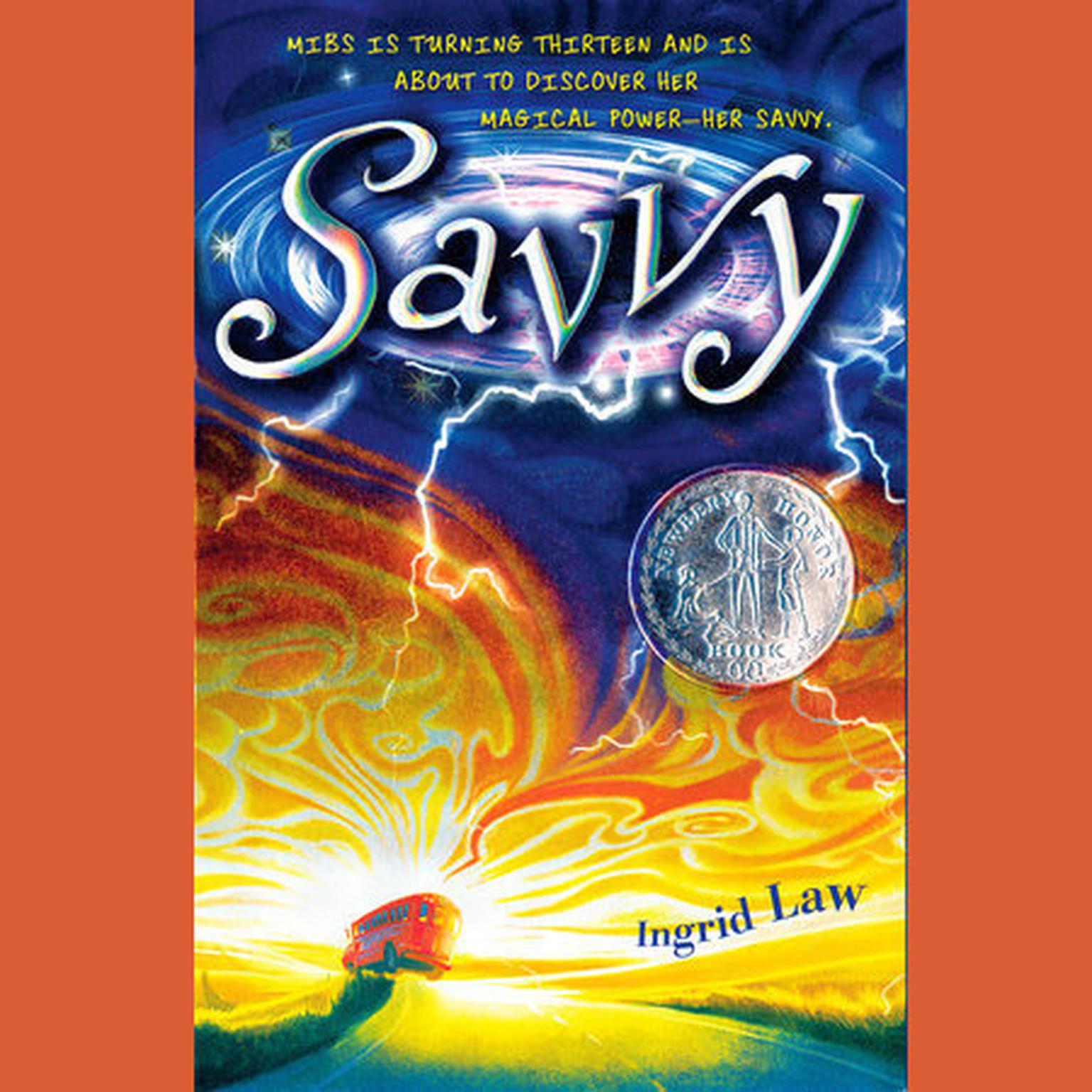 Printable Savvy Audiobook Cover Art