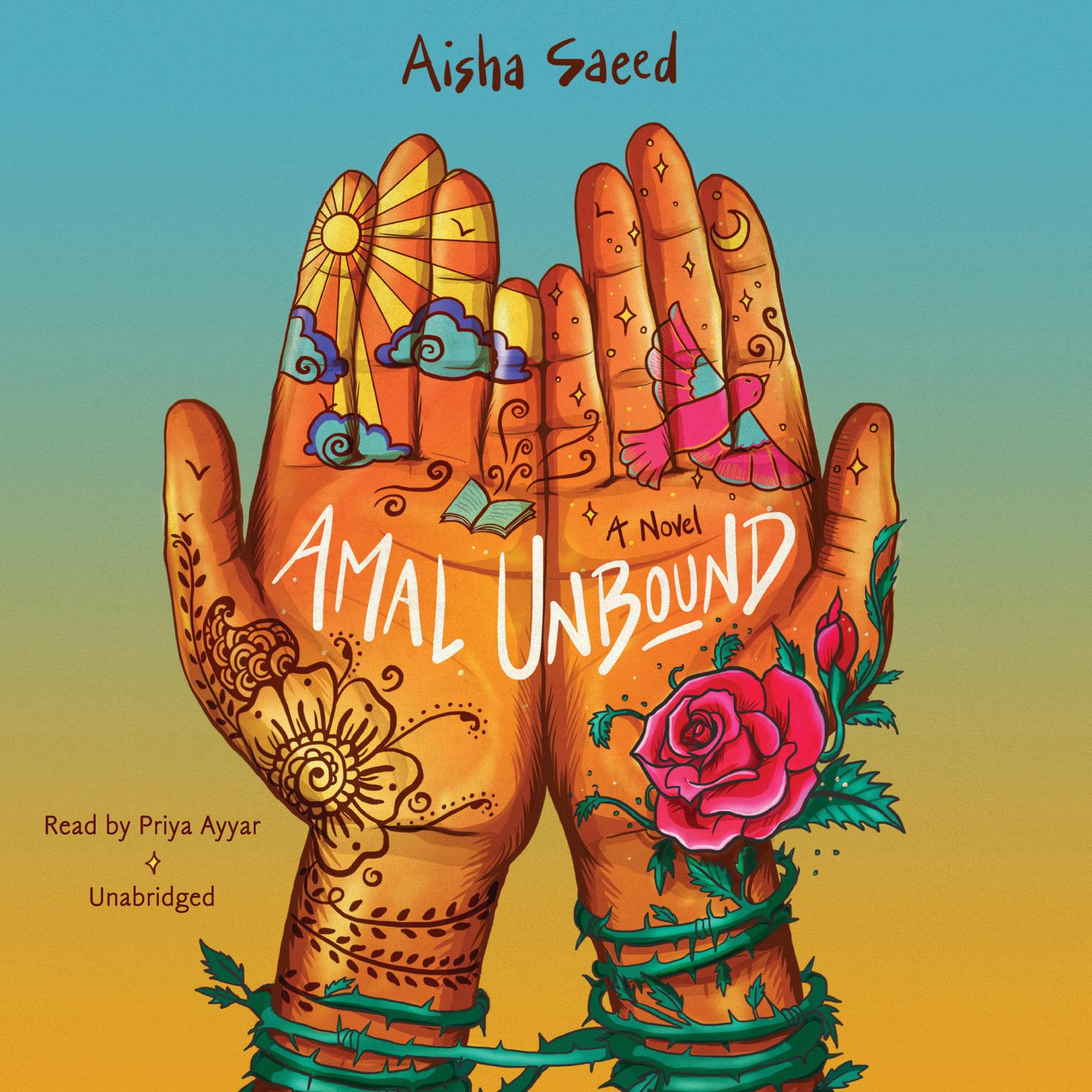 Printable Amal Unbound Audiobook Cover Art