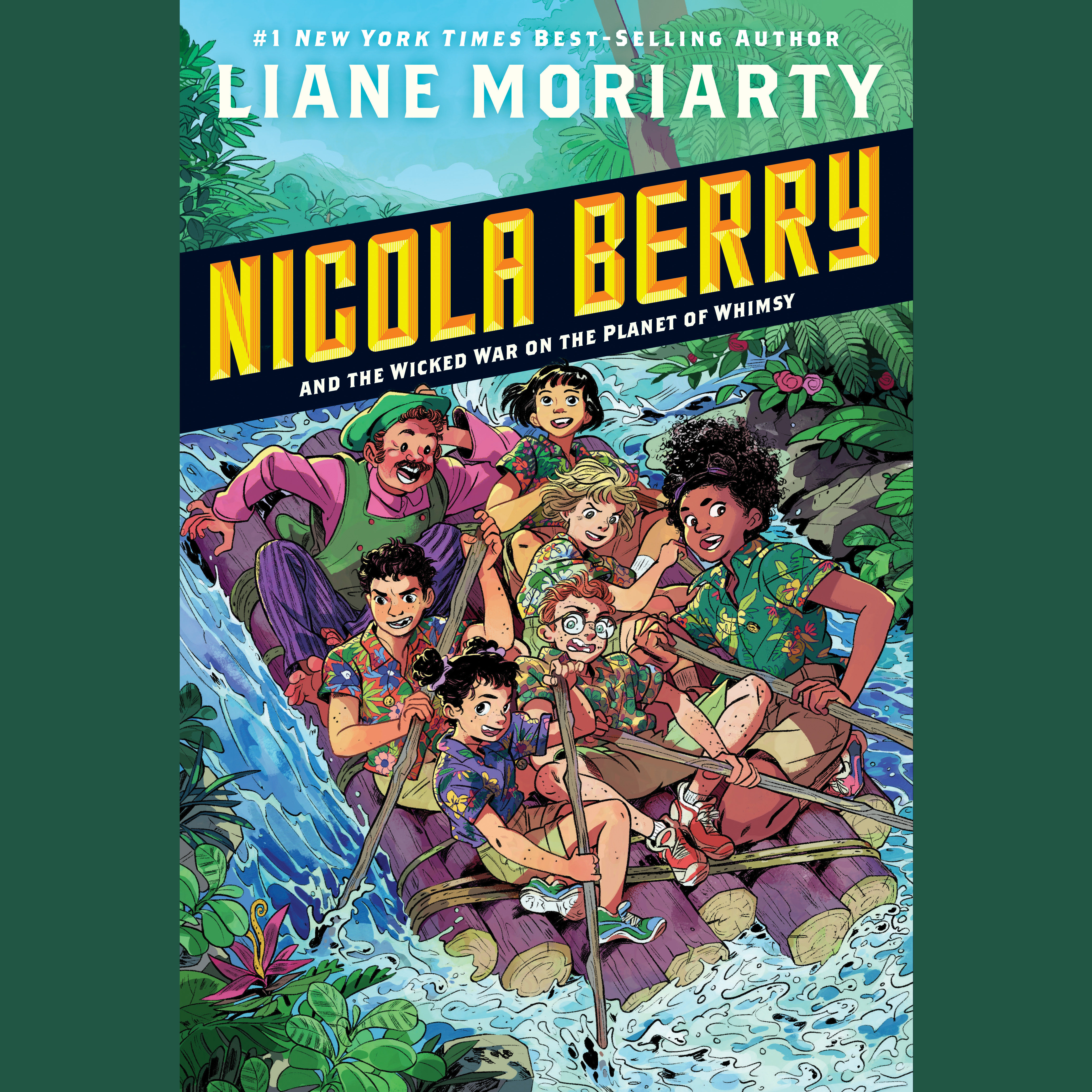Printable Nicola Berry and the Wicked War on the Planet of Whimsy #3 Audiobook Cover Art