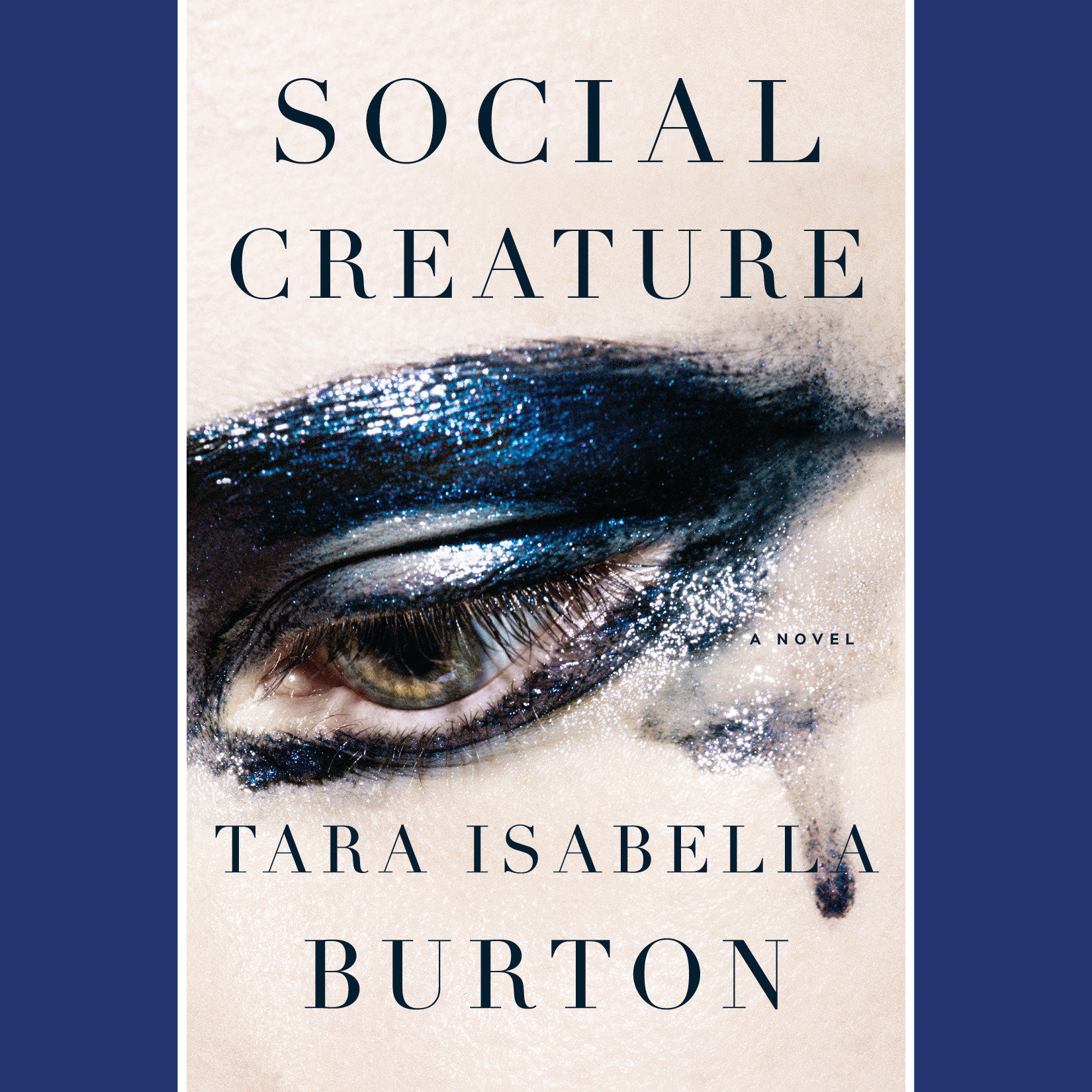 Printable Social Creature: A Novel Audiobook Cover Art
