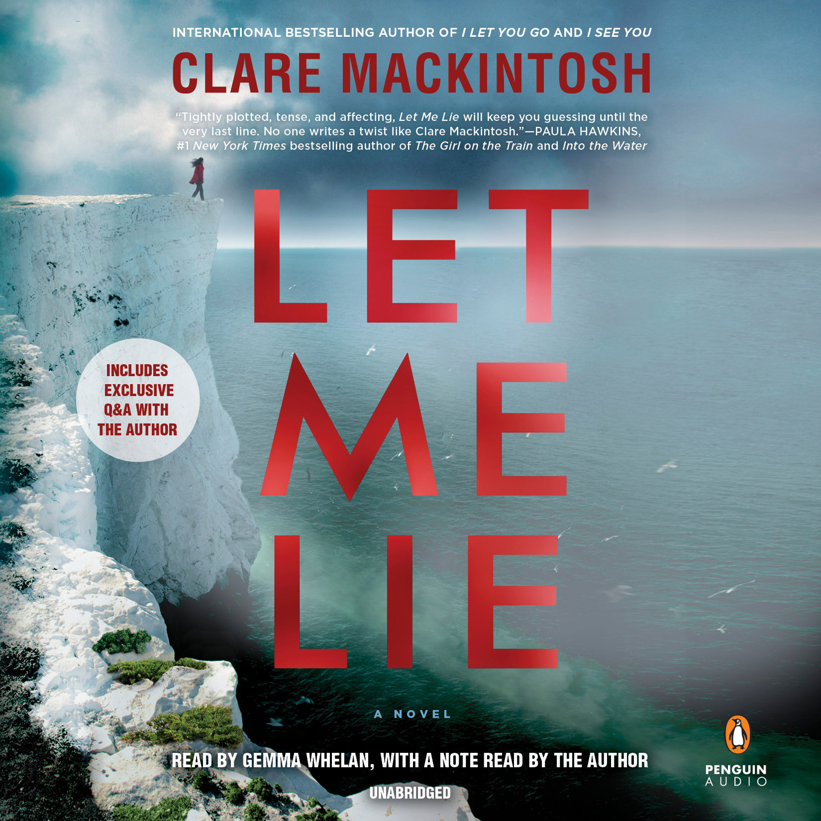 Printable Let Me Lie Audiobook Cover Art