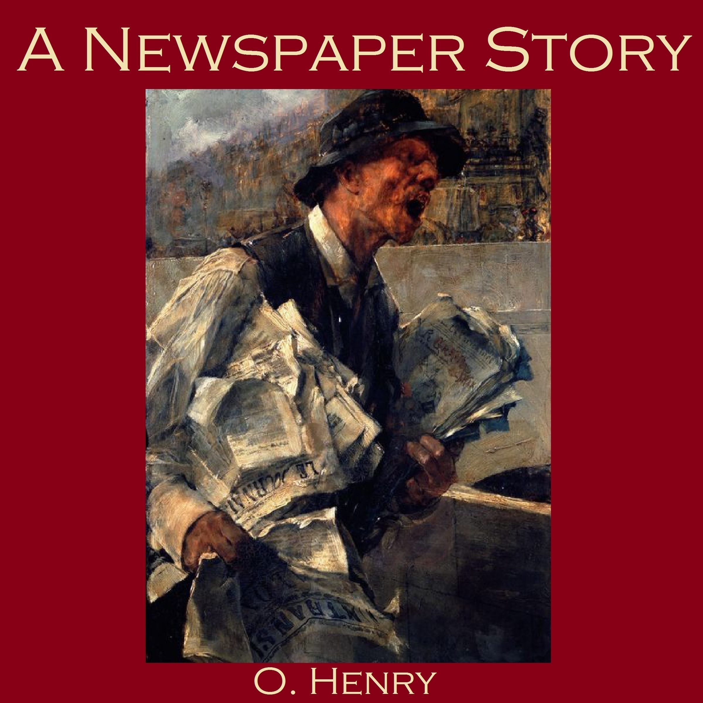 Printable A Newspaper Story Audiobook Cover Art