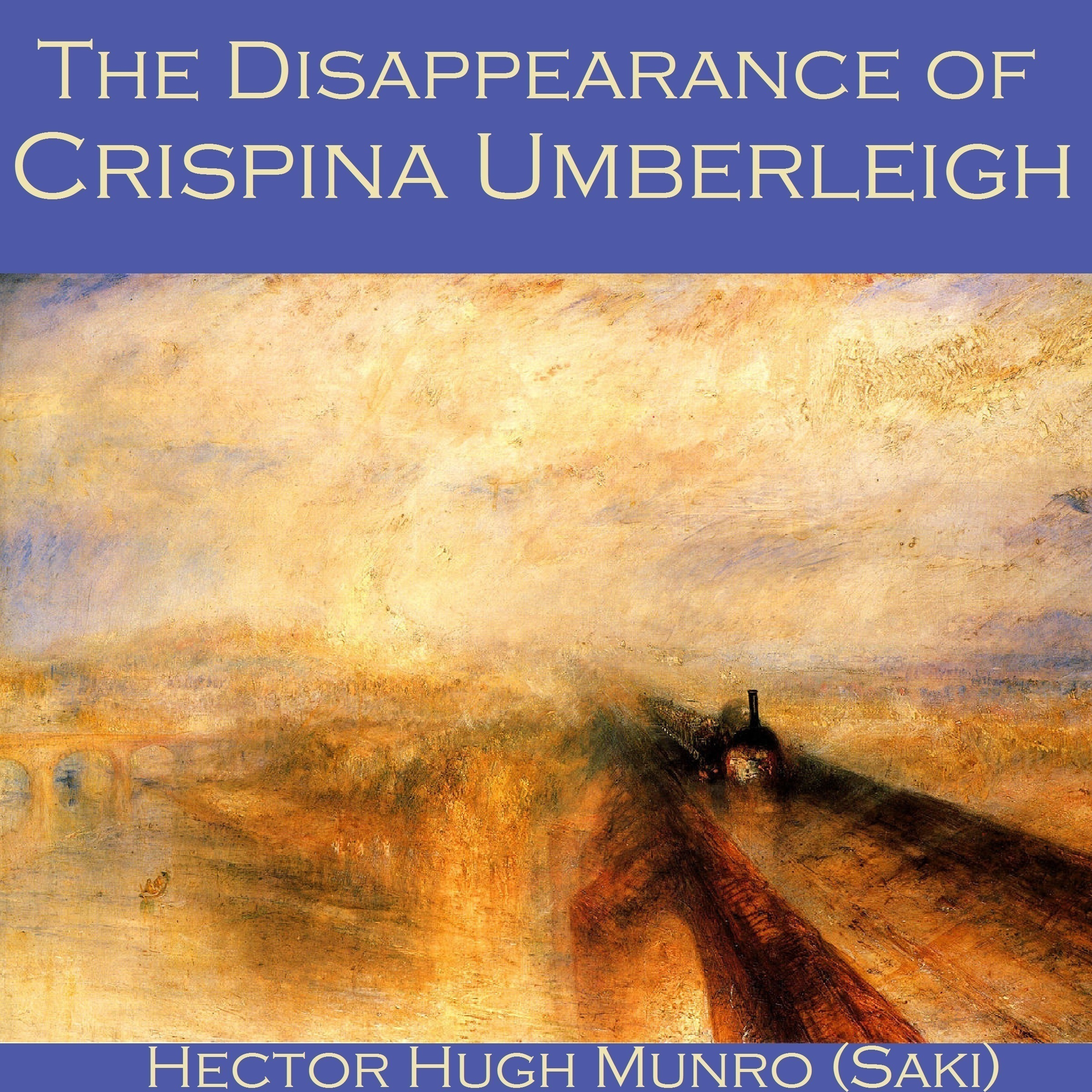 Printable The Disappearance of Crispina Umberleigh Audiobook Cover Art