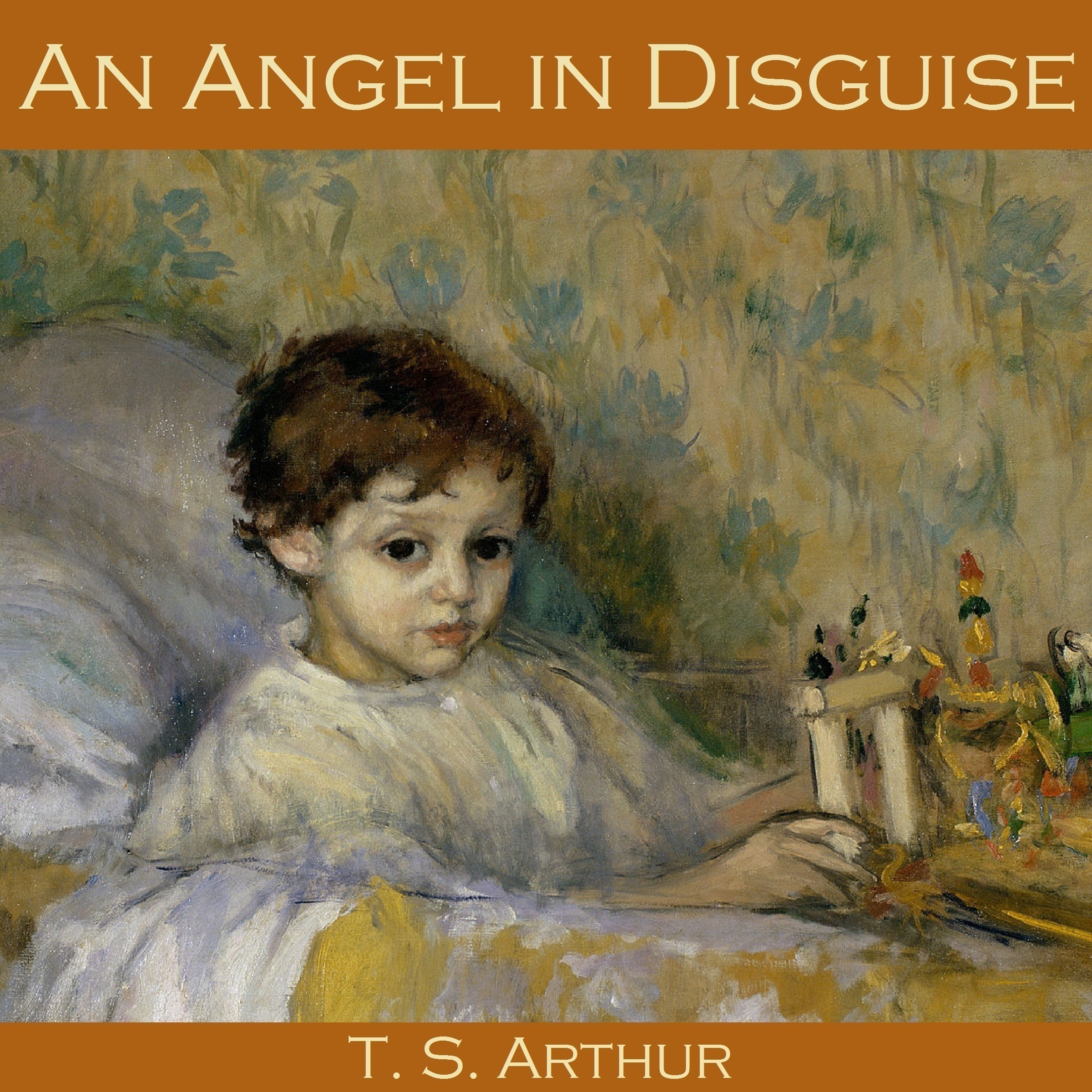 Printable An Angel in Disguise Audiobook Cover Art