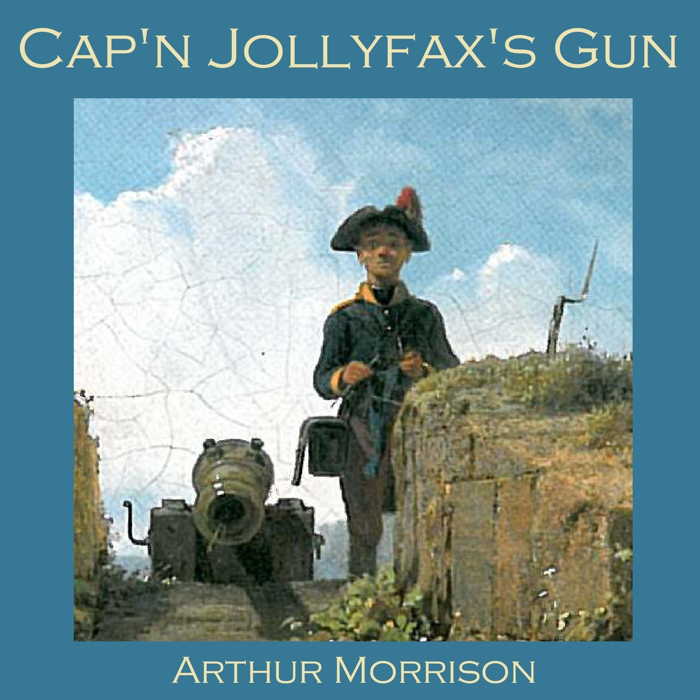 Printable Cap'n Jollyfax's Gun Audiobook Cover Art