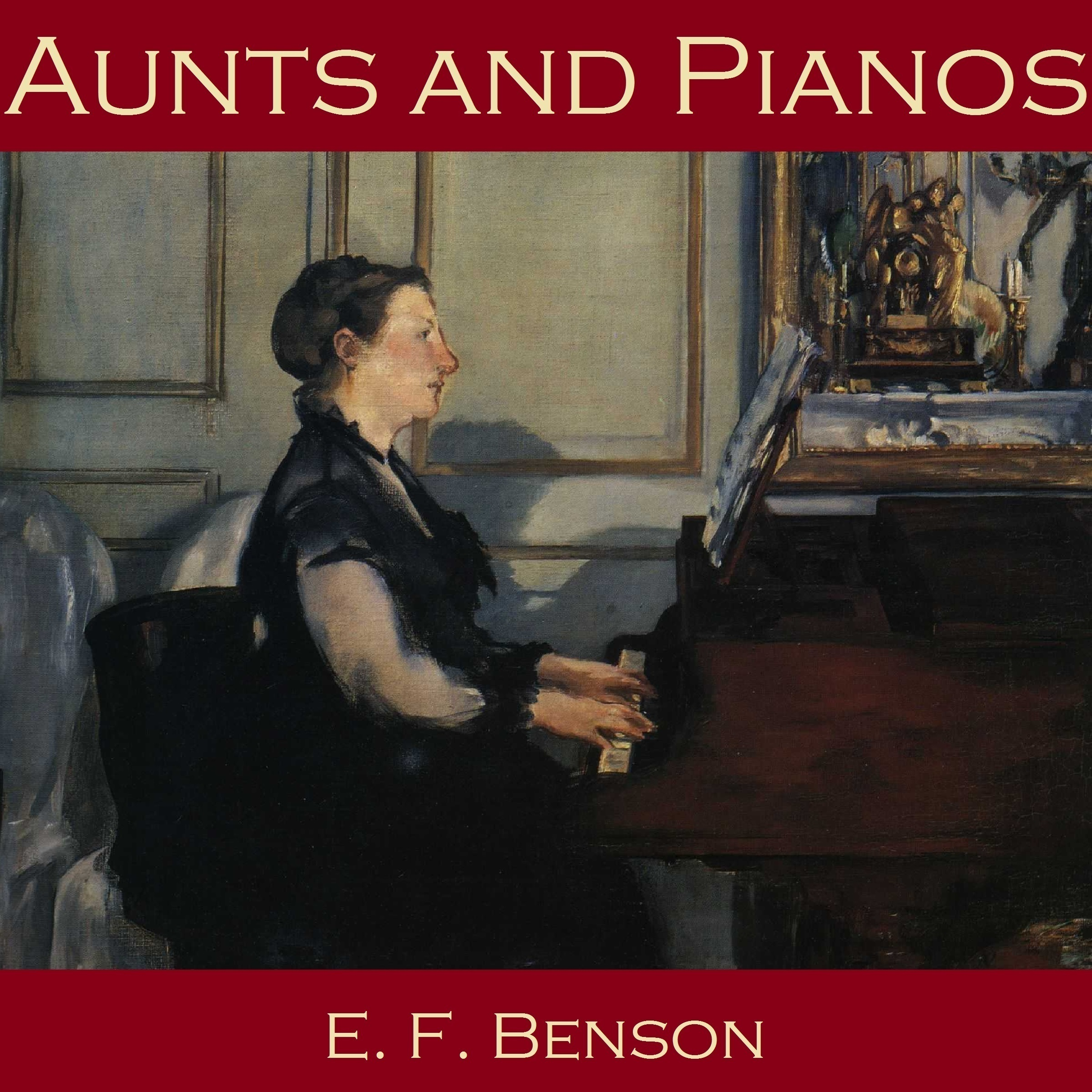 Printable Aunts and Pianos Audiobook Cover Art