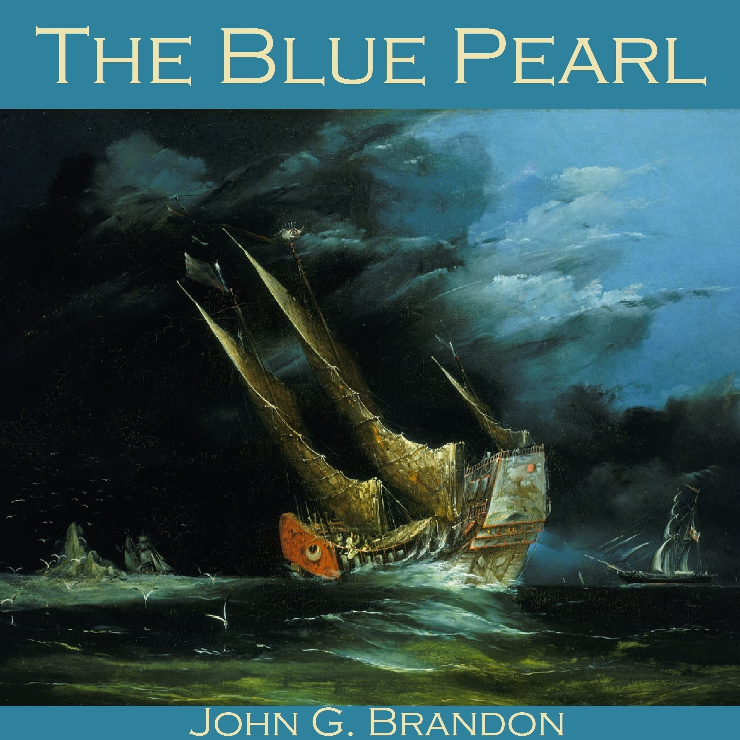 Printable The Blue Pearl Audiobook Cover Art