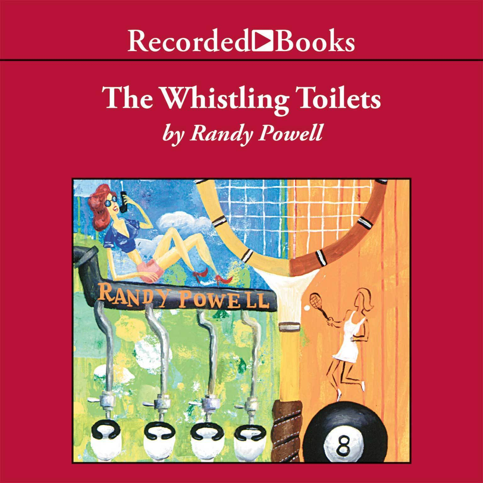 Printable Whistling Toilets Audiobook Cover Art