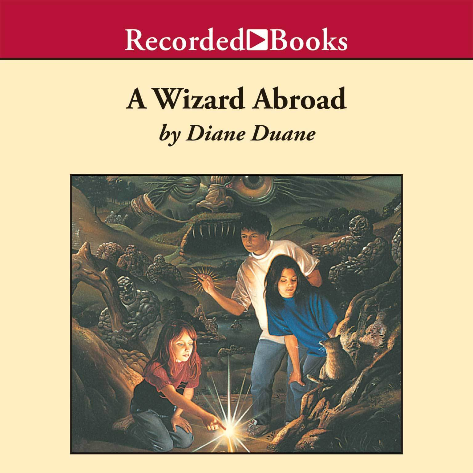 Printable A Wizard Abroad Audiobook Cover Art