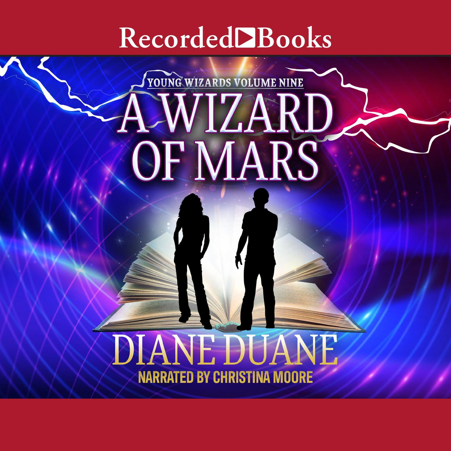 Printable A Wizard of Mars Audiobook Cover Art
