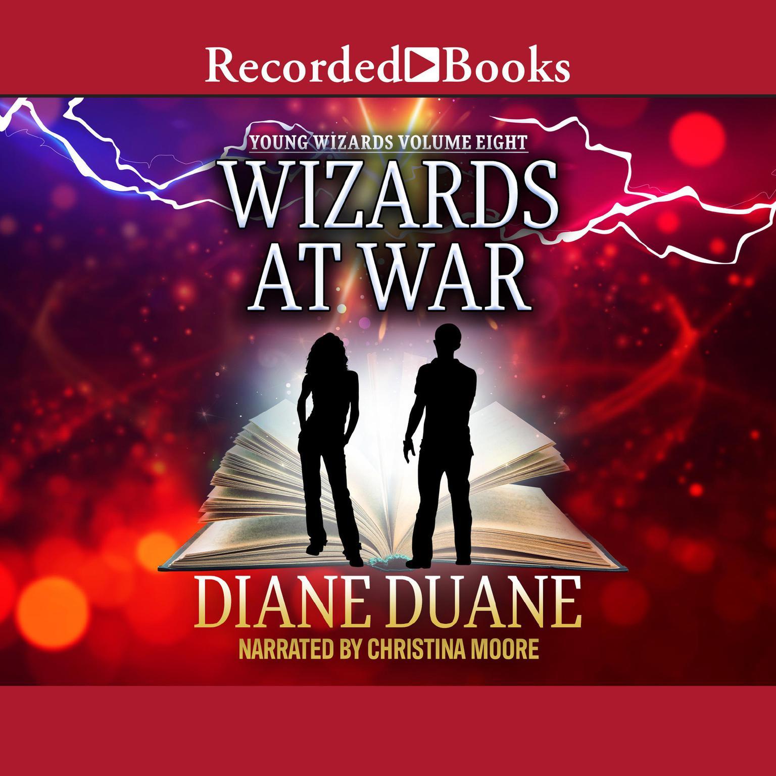 Printable Wizards at War Audiobook Cover Art