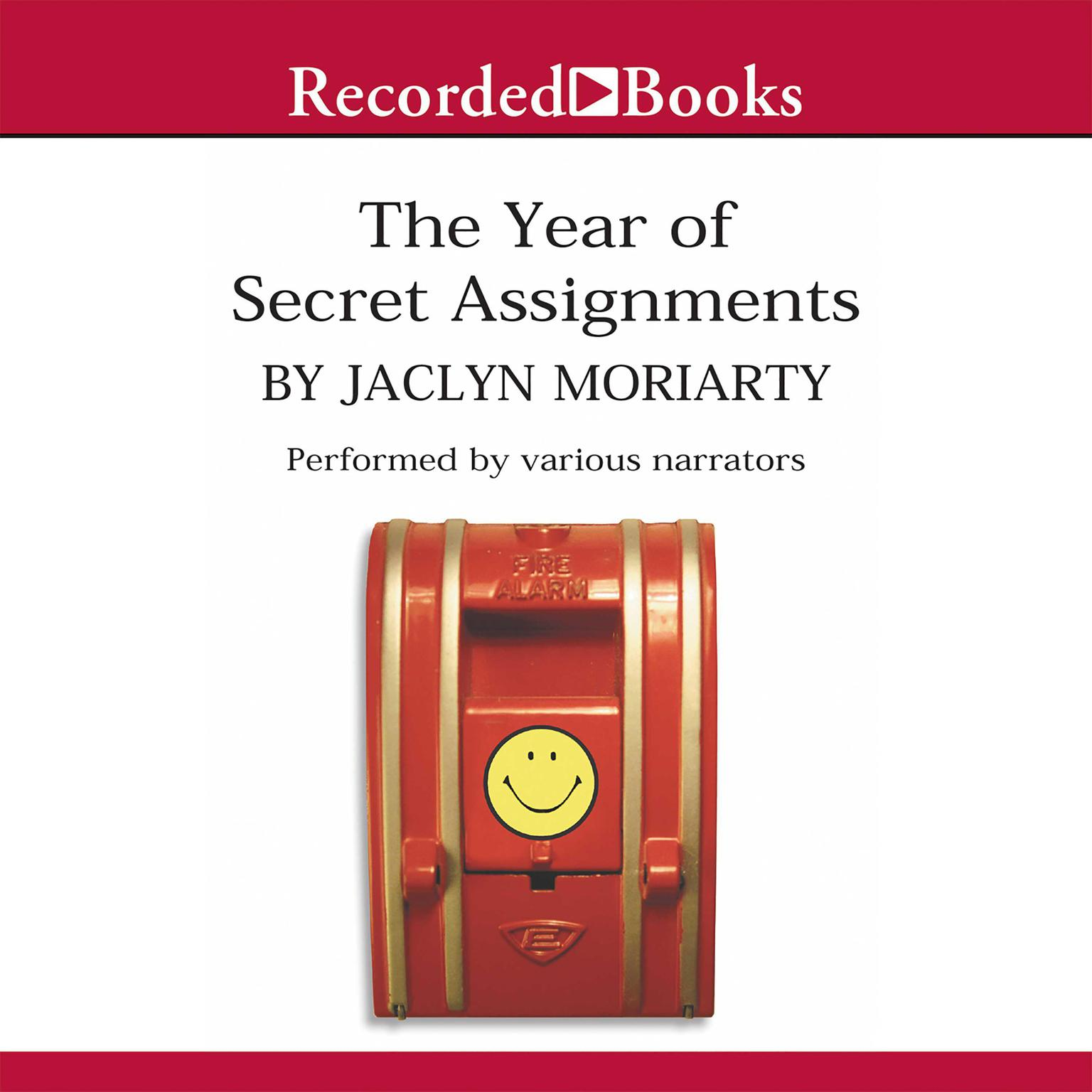 Printable The Year of Secret Assignments Audiobook Cover Art