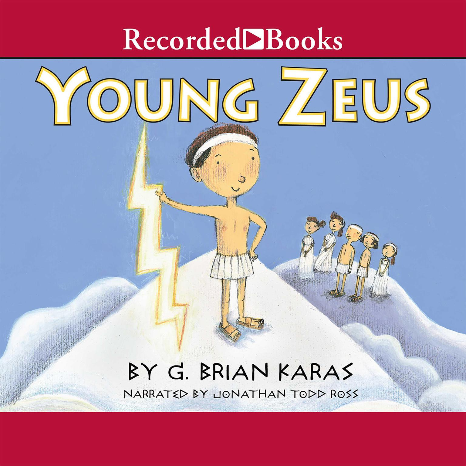 Printable Young Zeus Audiobook Cover Art