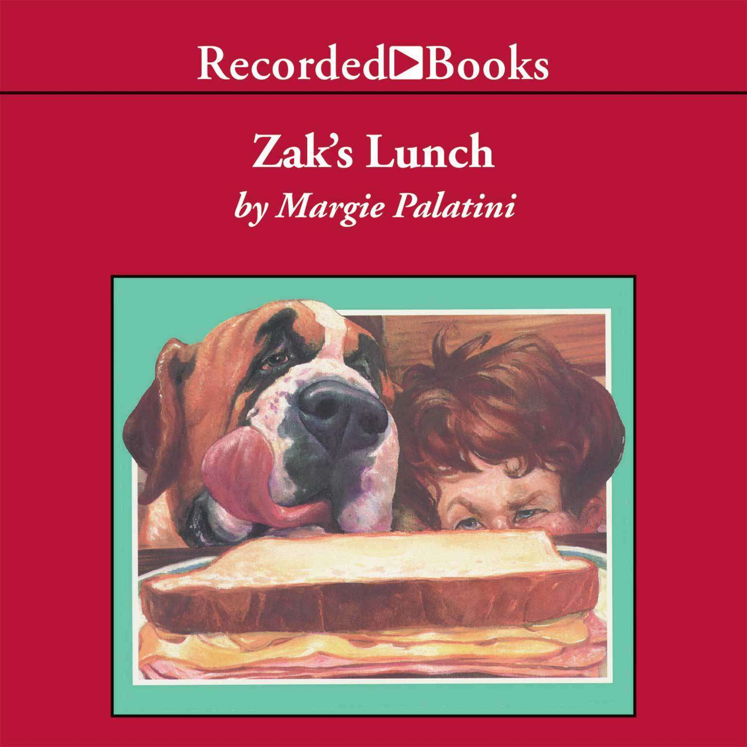 Printable Zak's Lunch Audiobook Cover Art