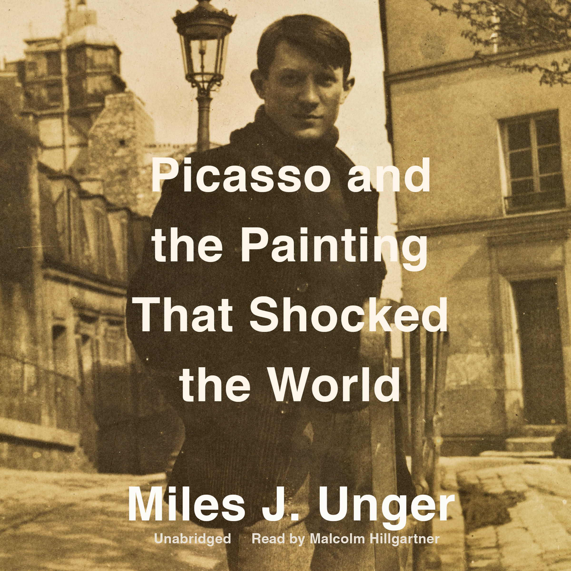 Printable Picasso and the Painting That Shocked the World Audiobook Cover Art