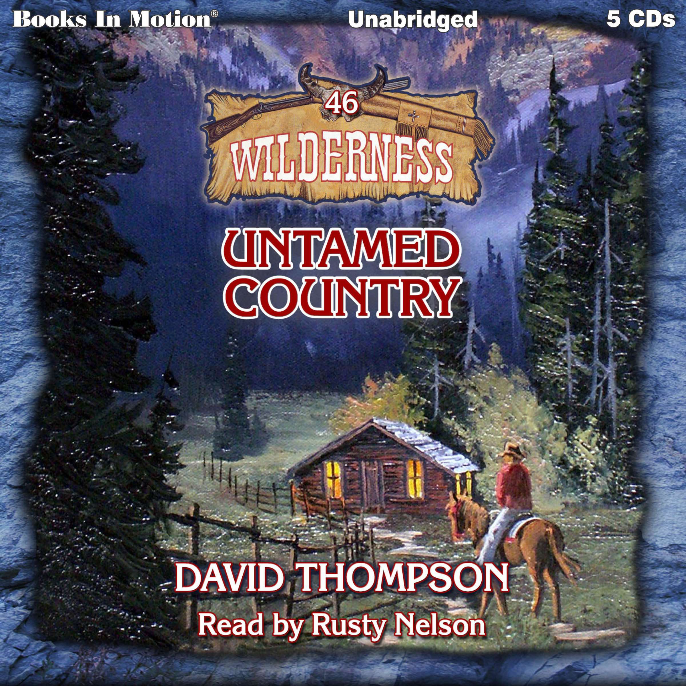 Printable Untamed Country Audiobook Cover Art