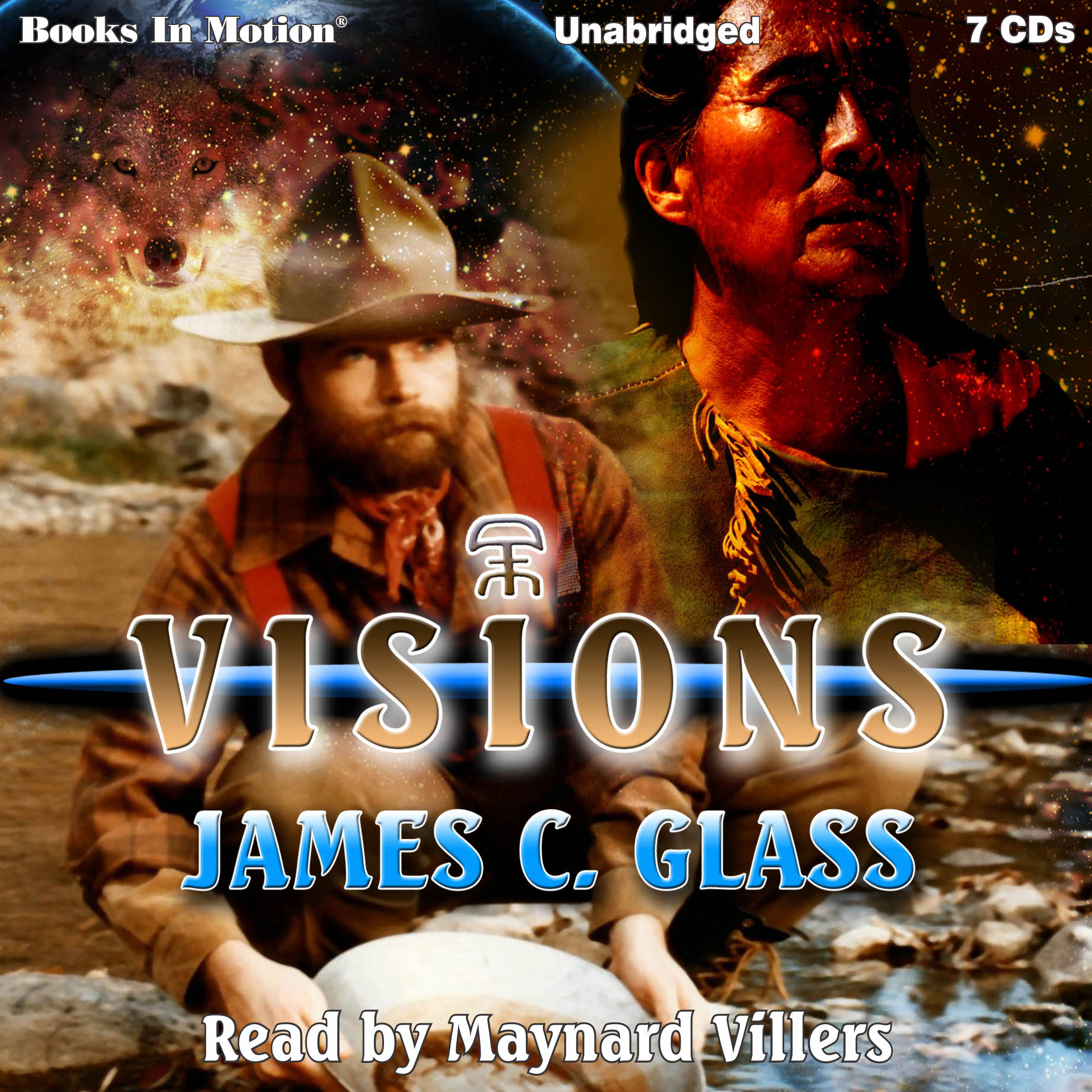 Printable Visions Audiobook Cover Art
