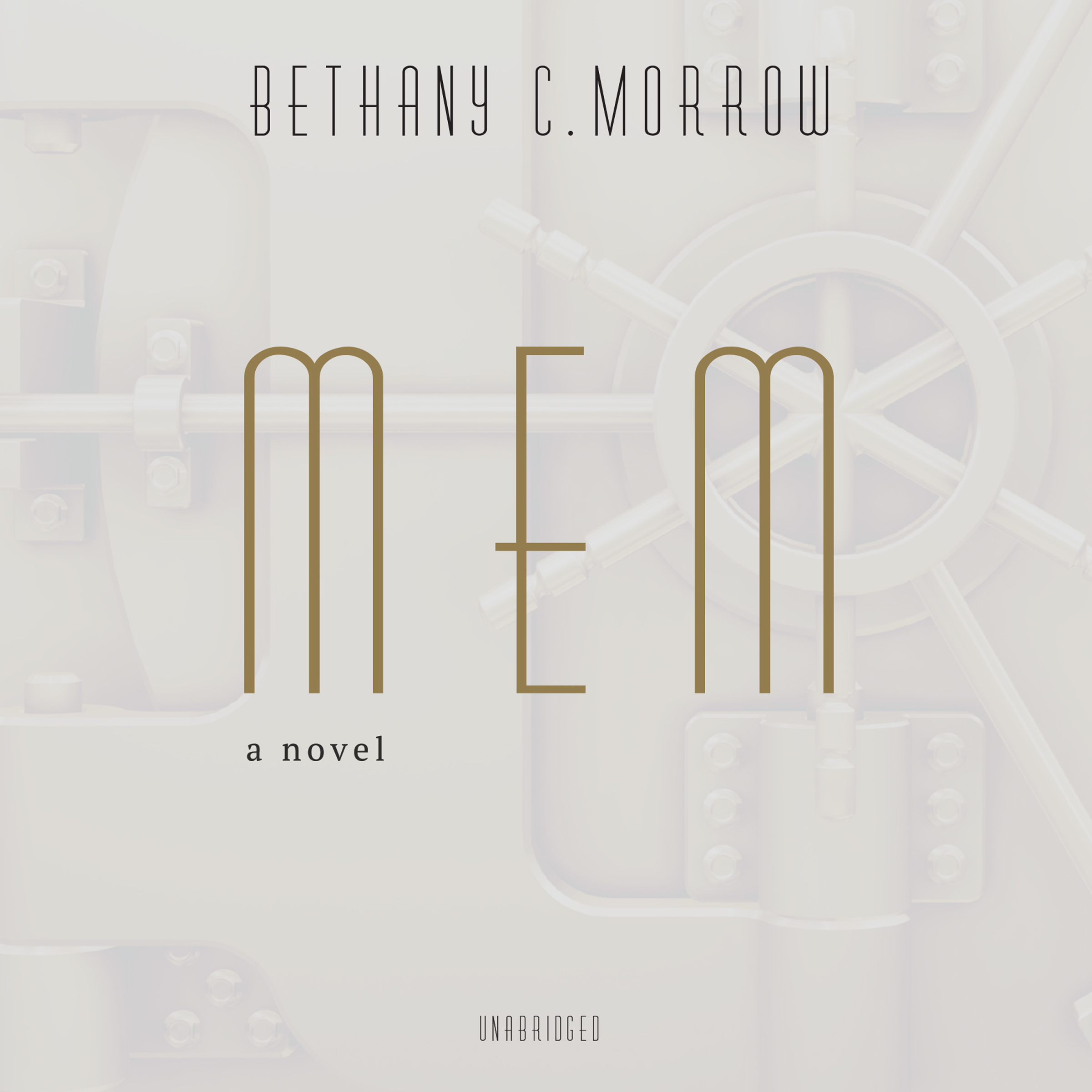 Printable Mem: A Novel Audiobook Cover Art