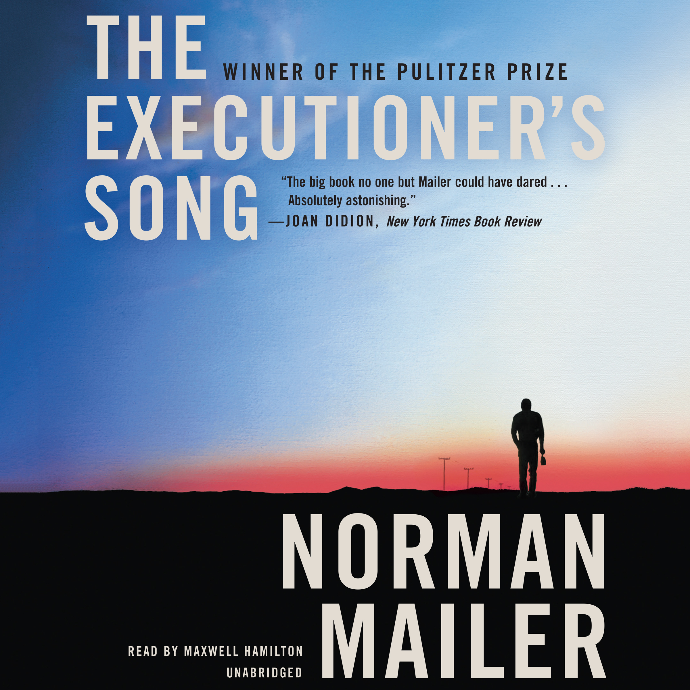 Printable The Executioner's Song Audiobook Cover Art