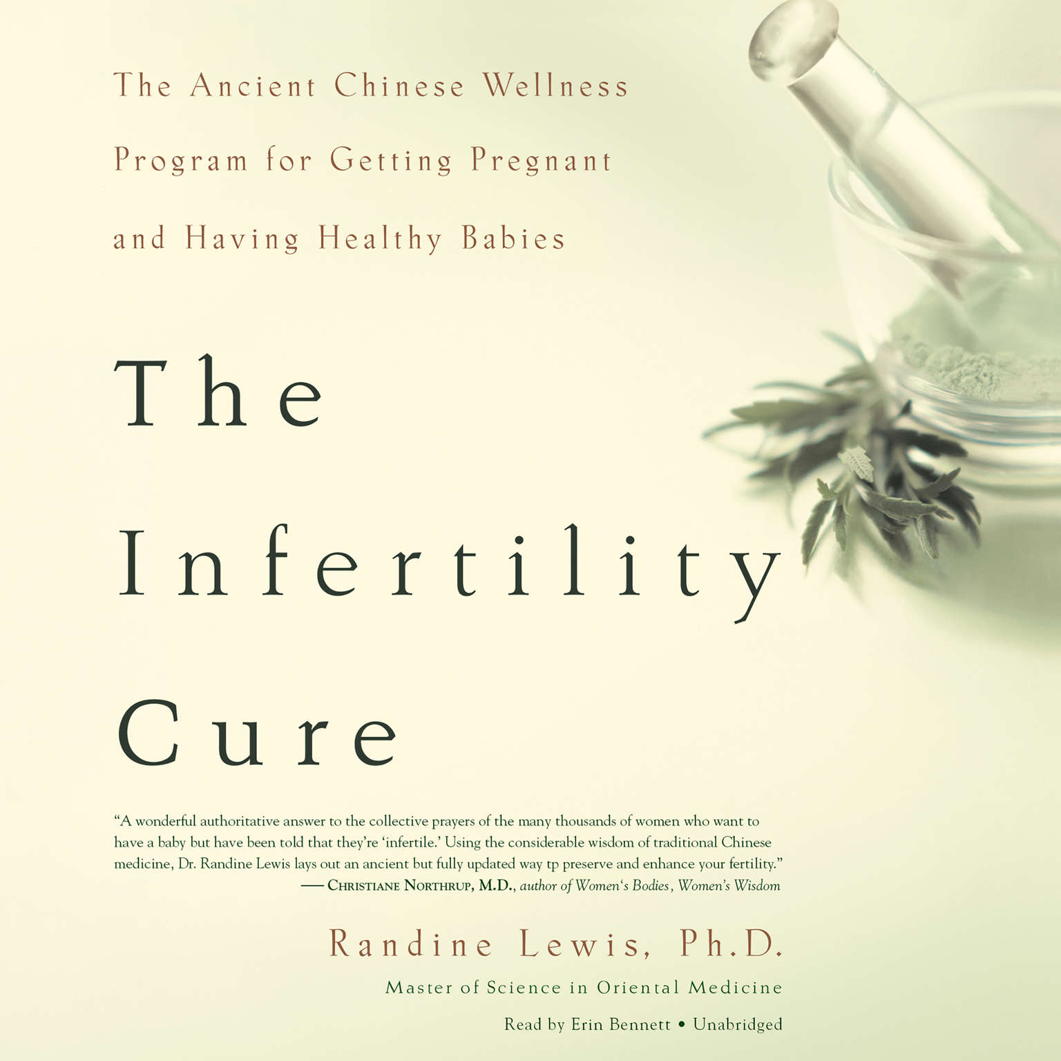 Printable The Infertility Cure: The Ancient Chinese Wellness Program for Getting Pregnant and Having Healthy Babies Audiobook Cover Art