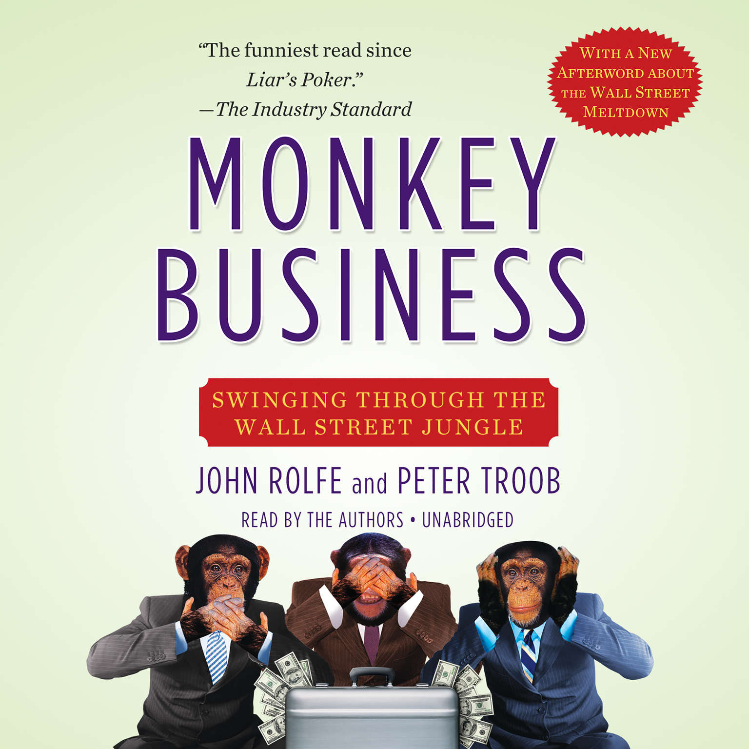 Printable Monkey Business: Swinging Through the Wall Street Jungle Audiobook Cover Art