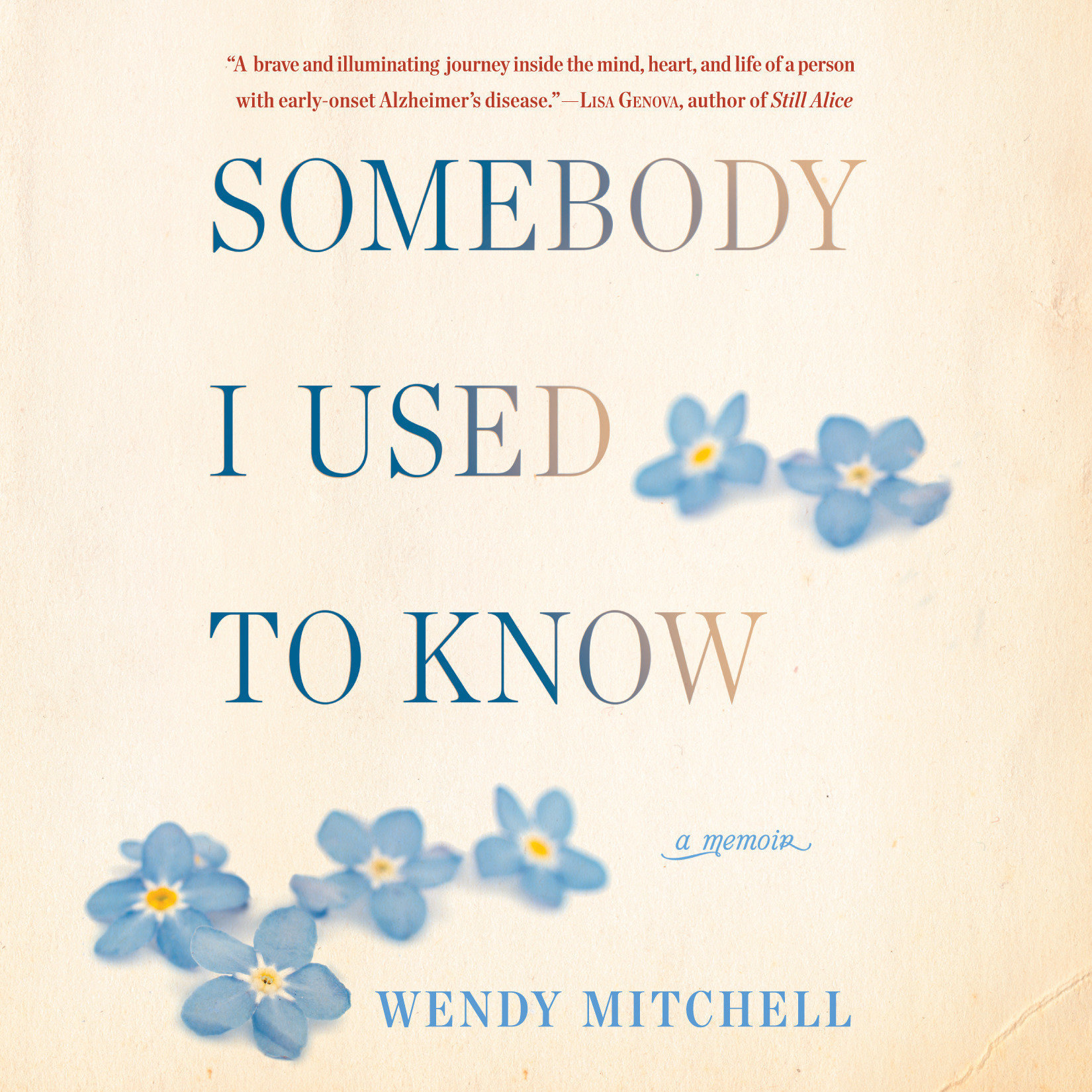 Printable Somebody I Used to Know: A Memoir Audiobook Cover Art