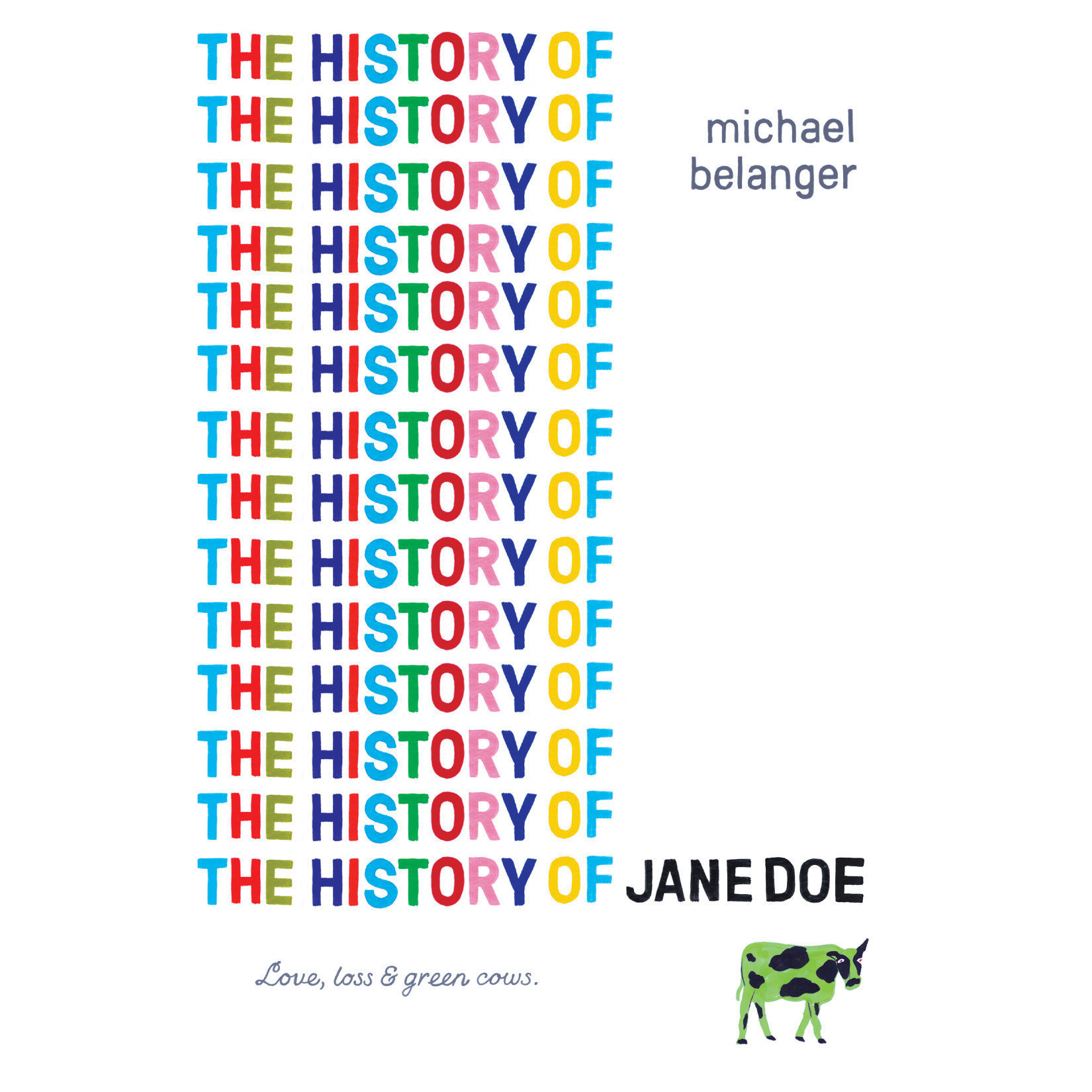 Printable The History of Jane Doe Audiobook Cover Art