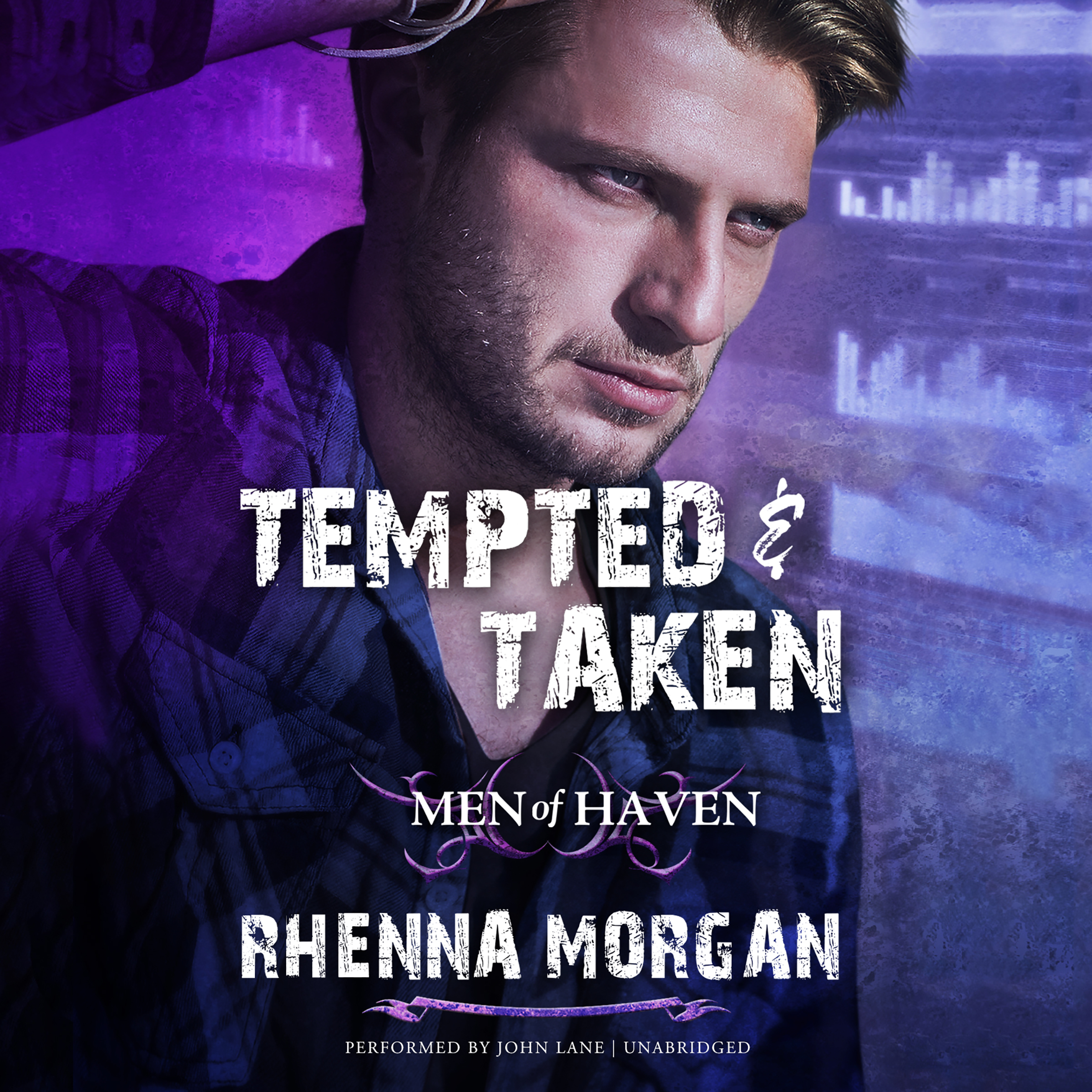 Printable Tempted & Taken Audiobook Cover Art