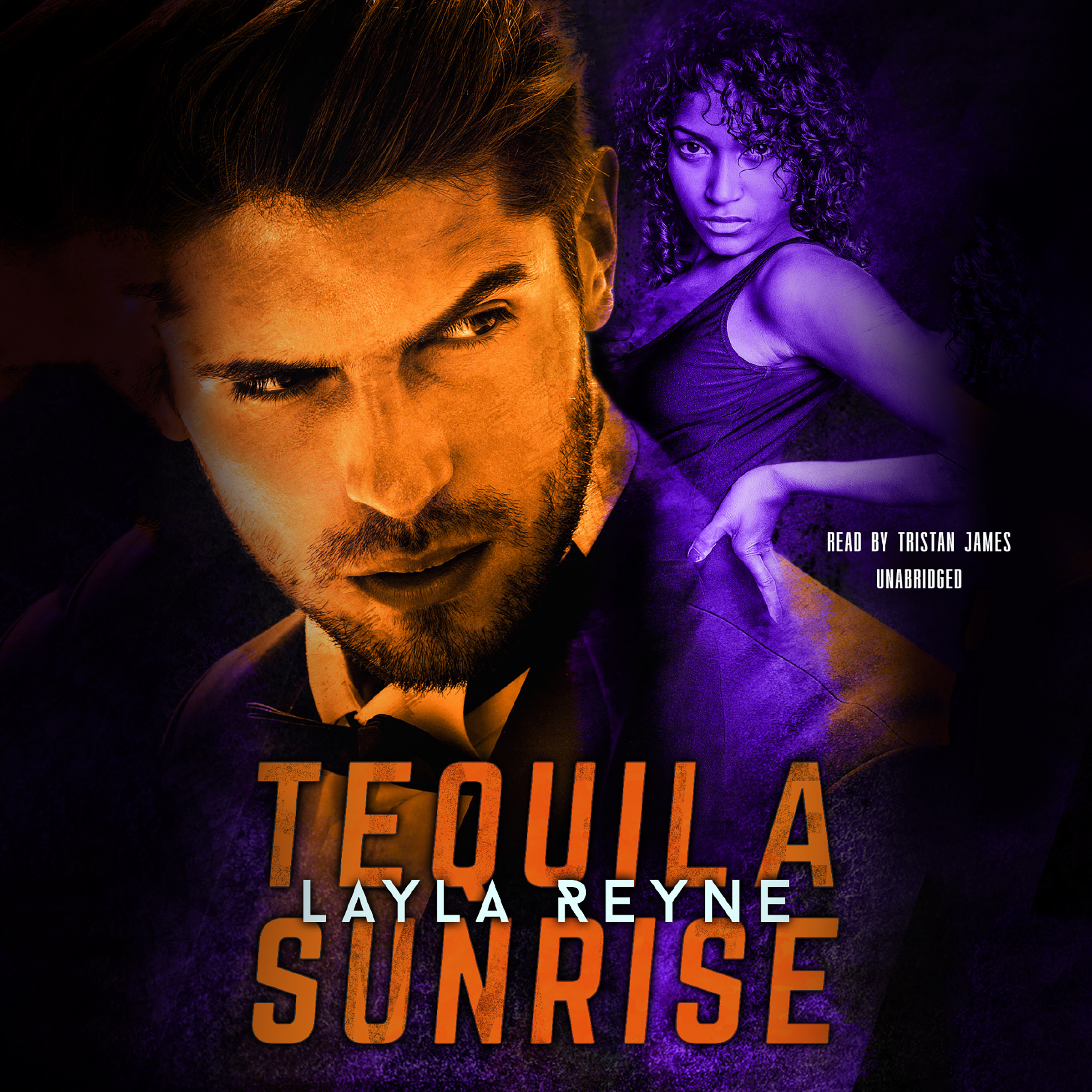 Printable Tequila Sunrise Audiobook Cover Art