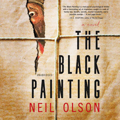 The Black Painting Audiobook, by Neil Olson