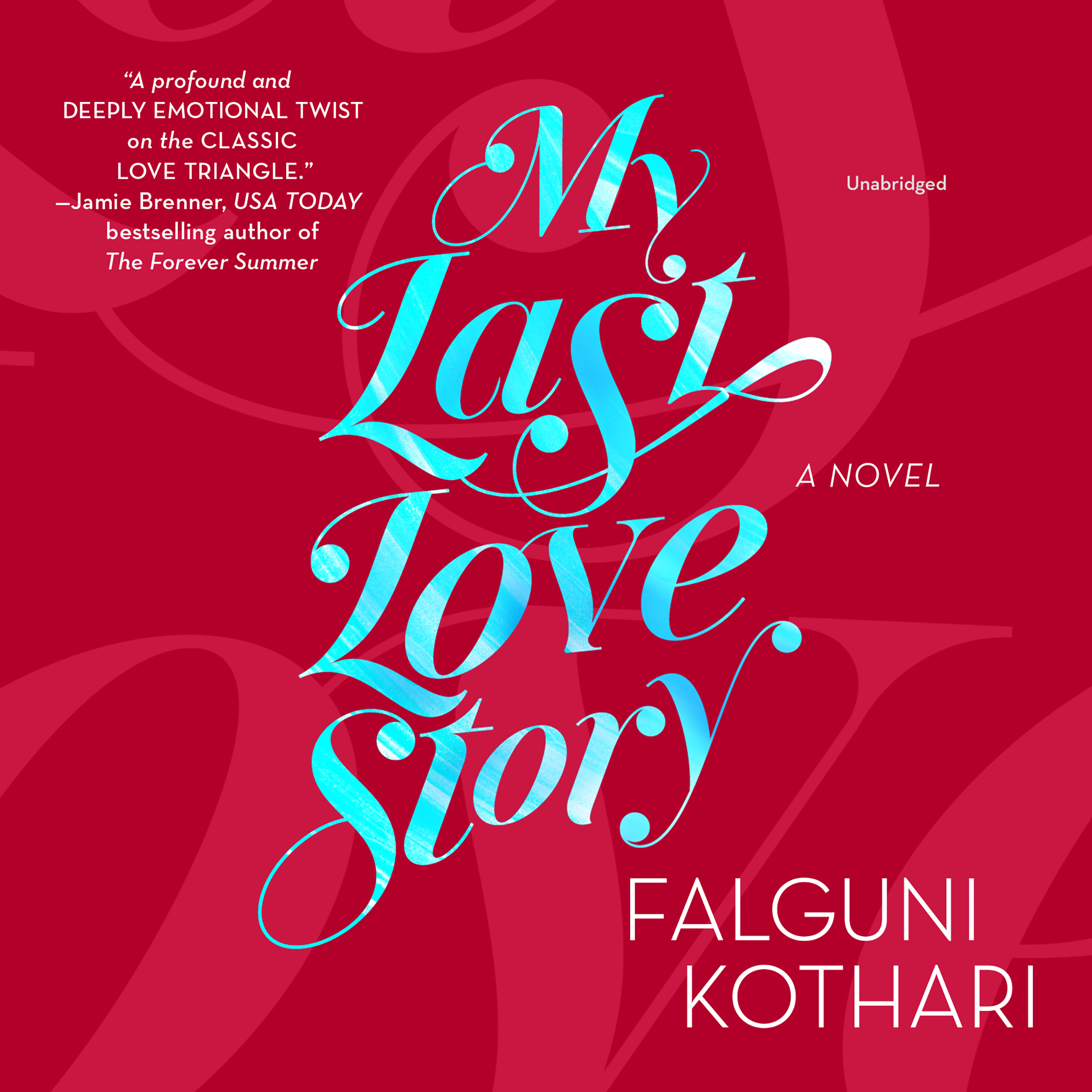 Printable My Last Love Story Audiobook Cover Art