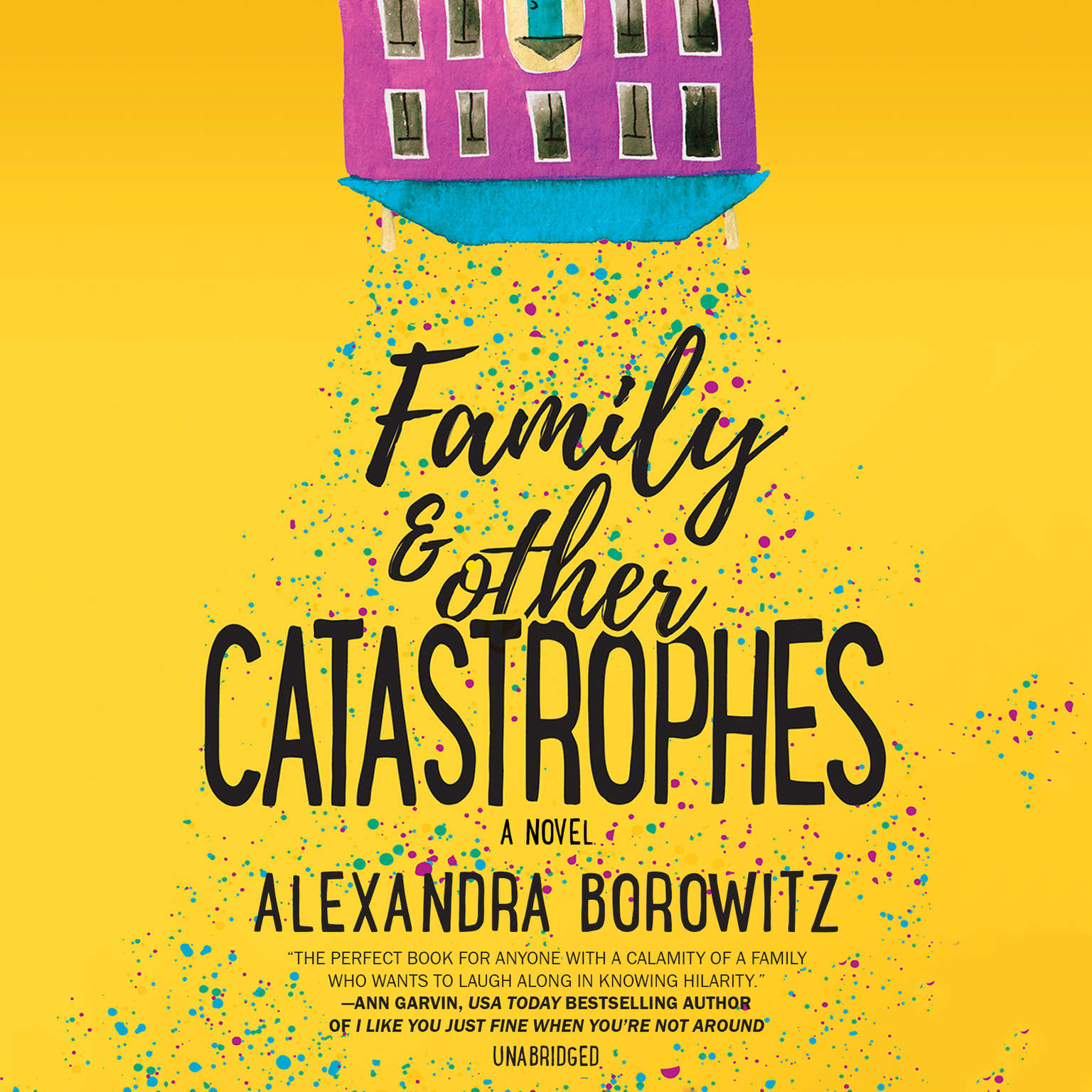 Family and Other Catastrophes Audiobook, by Alexandra Borowitz