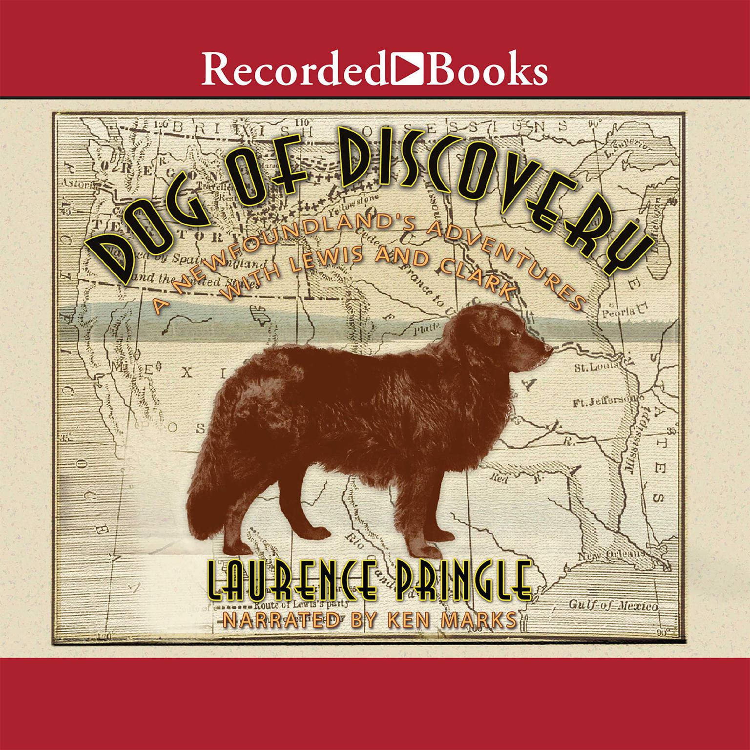 Printable Dog of Discovery Audiobook Cover Art