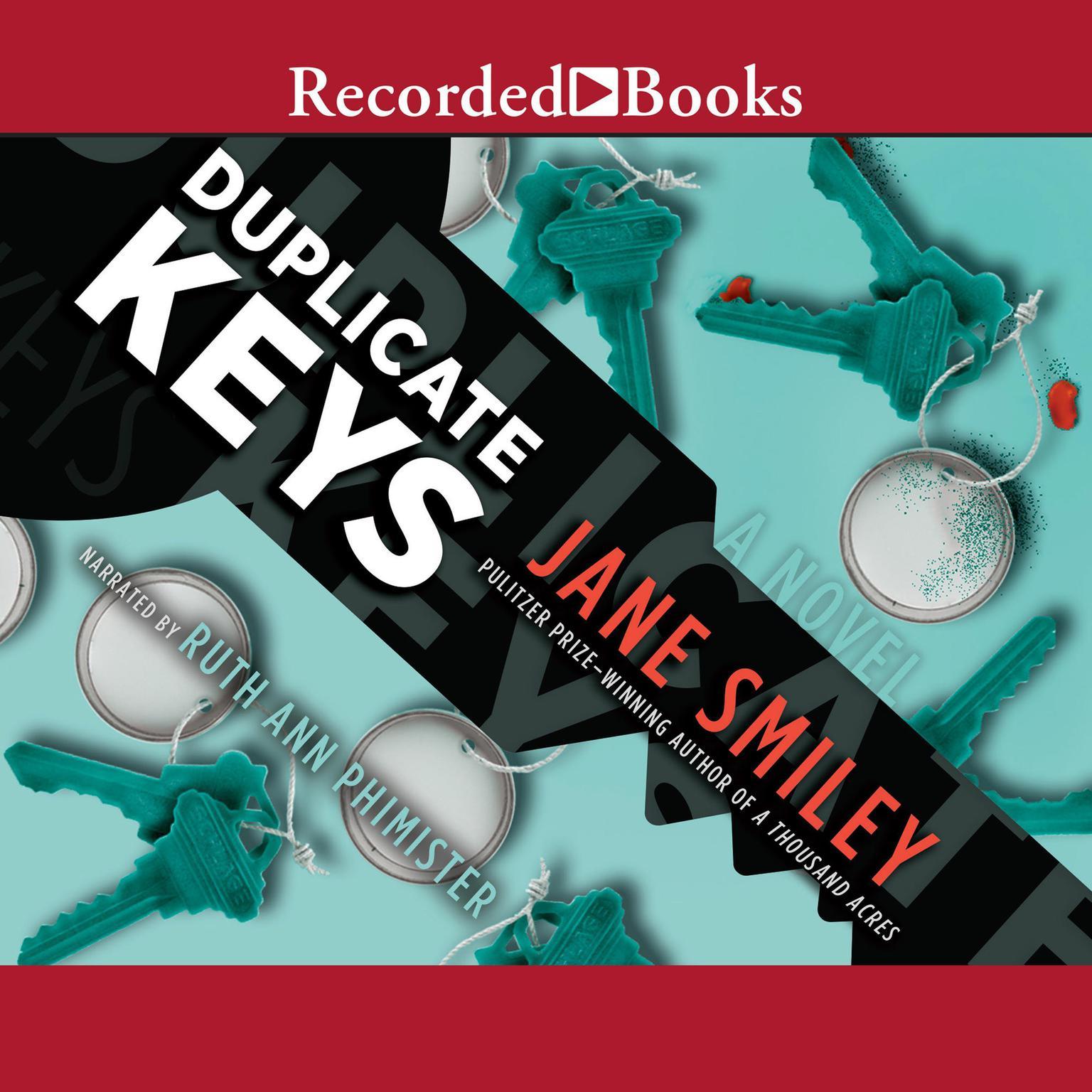 Printable Duplicate Keys Audiobook Cover Art