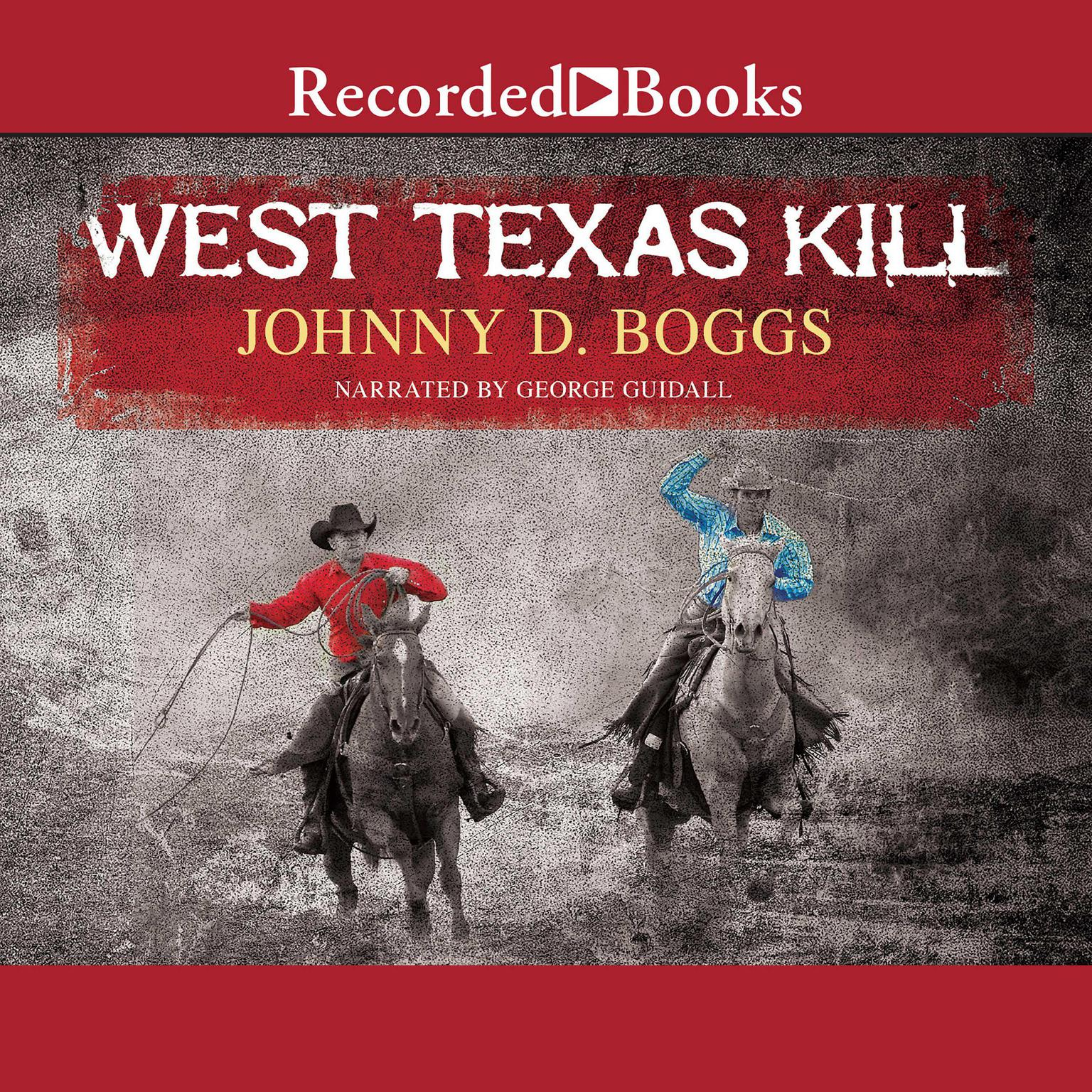 Printable West Texas Kill Audiobook Cover Art