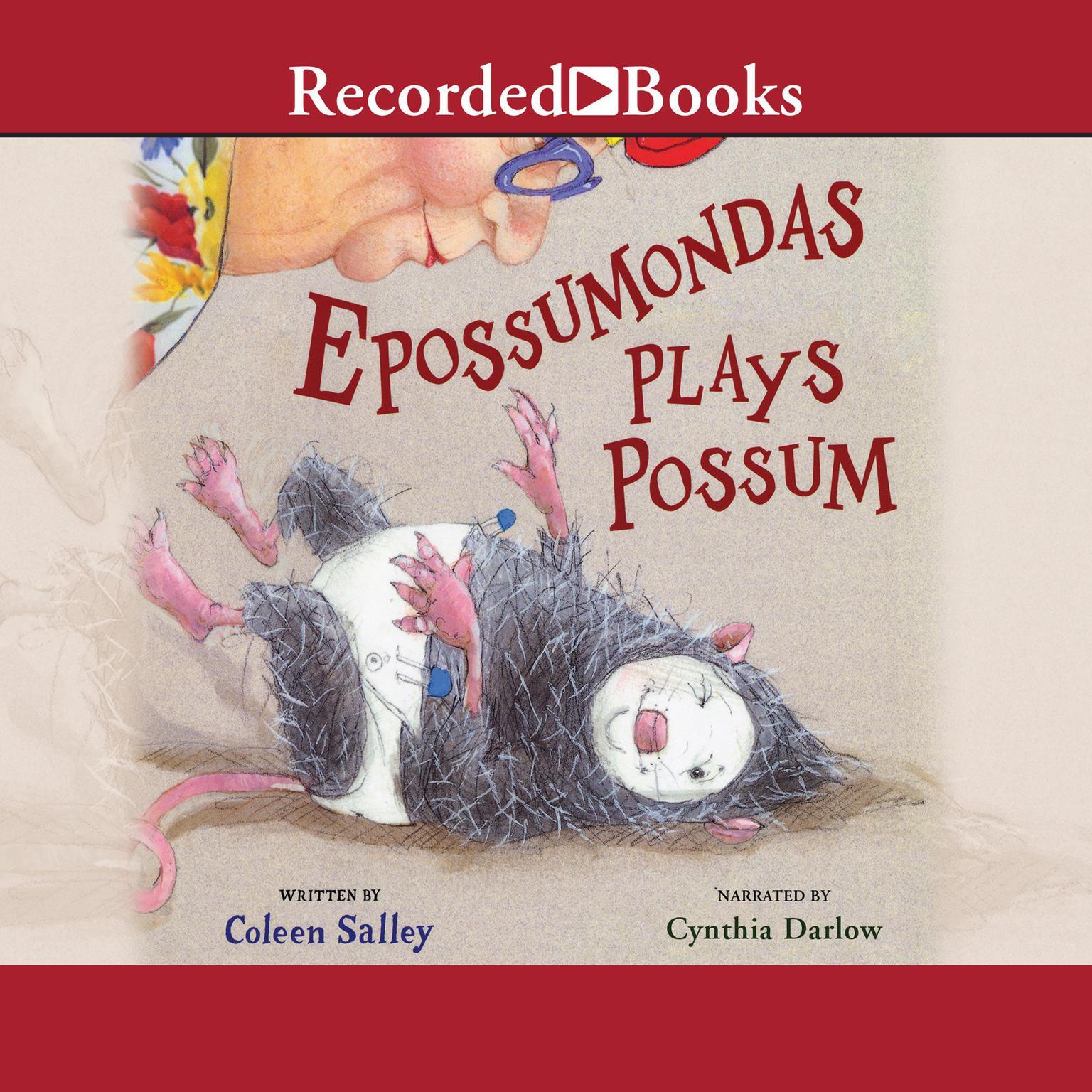 Printable Epossumondas Plays Possum Audiobook Cover Art