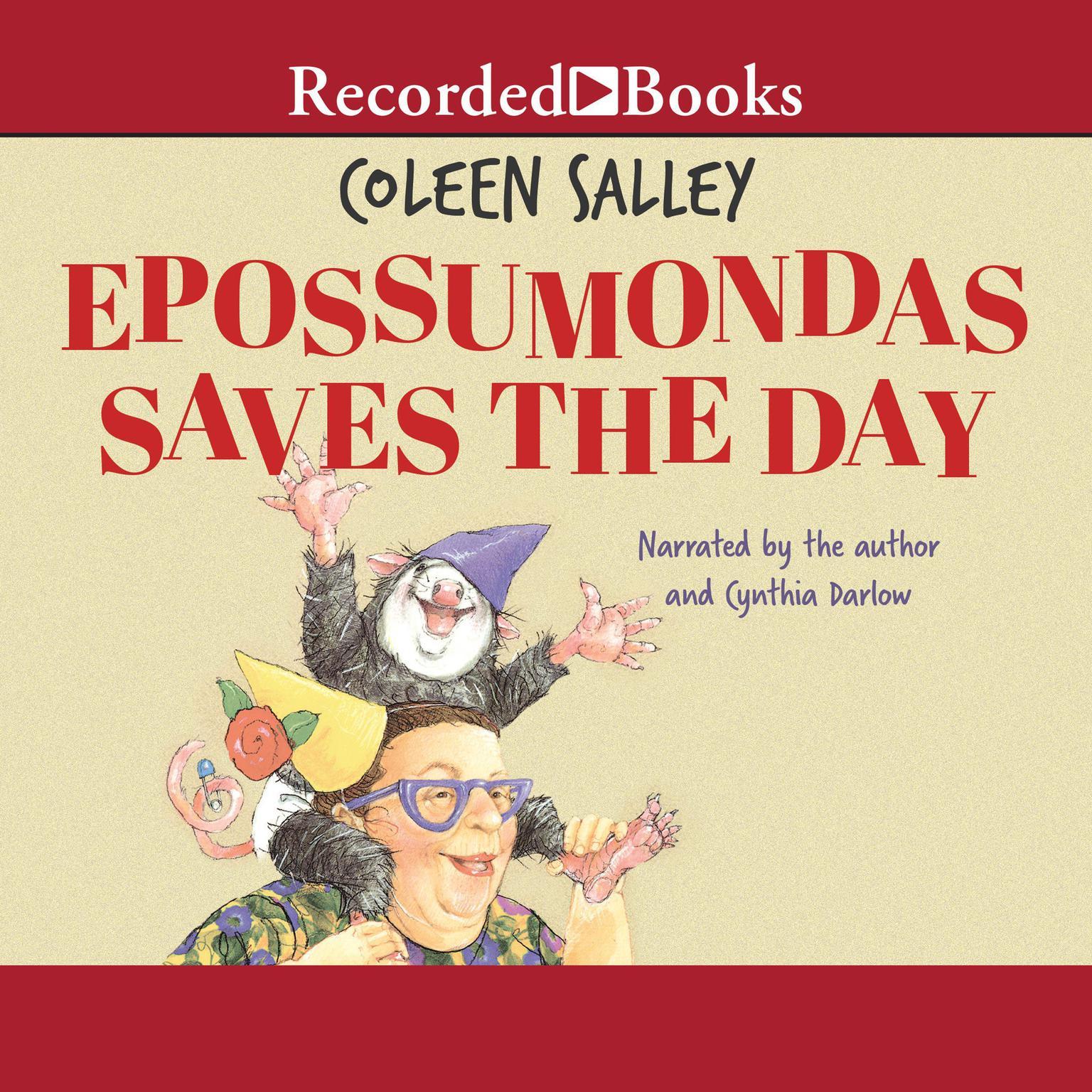 Printable Epossumondas Saves the Day Audiobook Cover Art