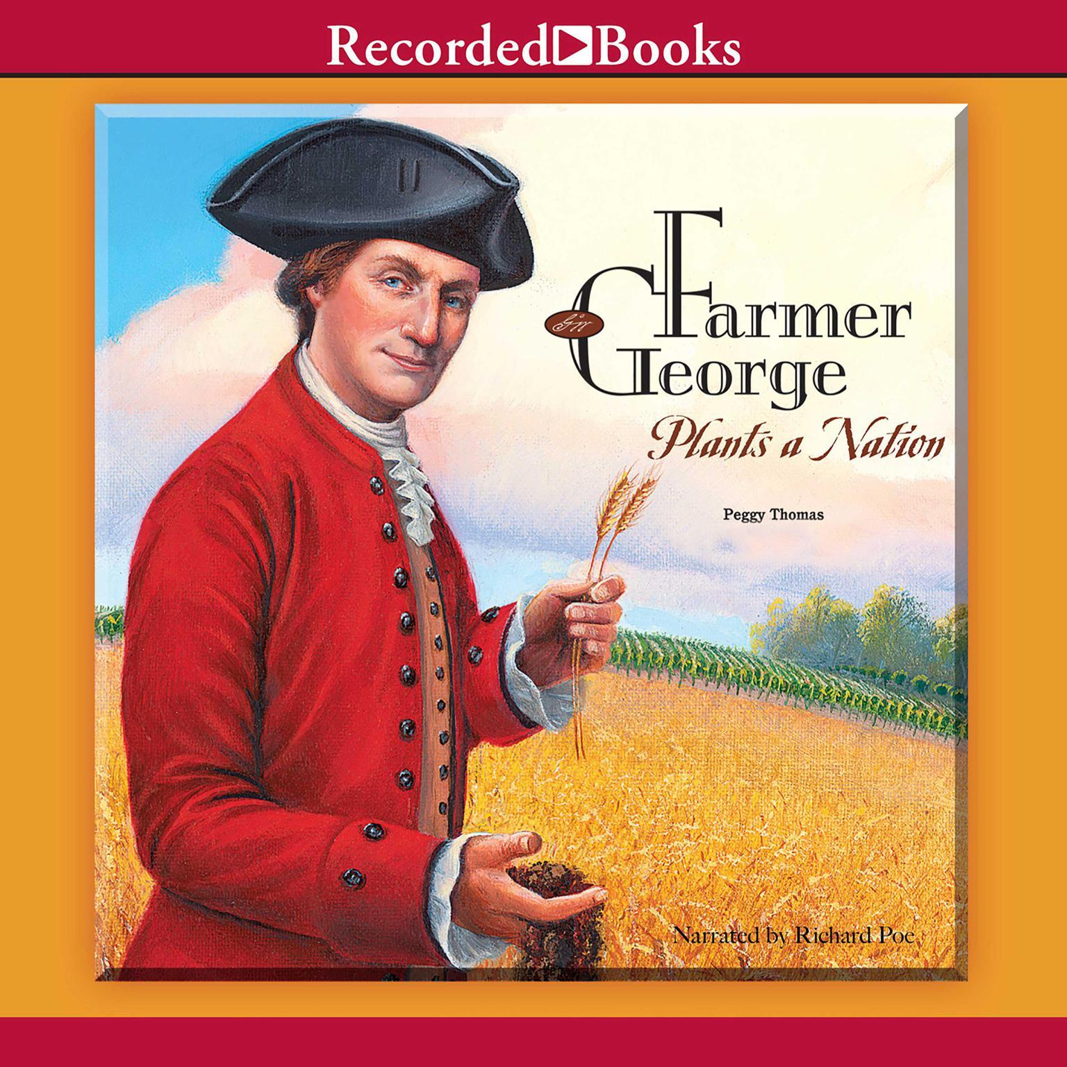 Printable Farmer George Plants a Nation Audiobook Cover Art