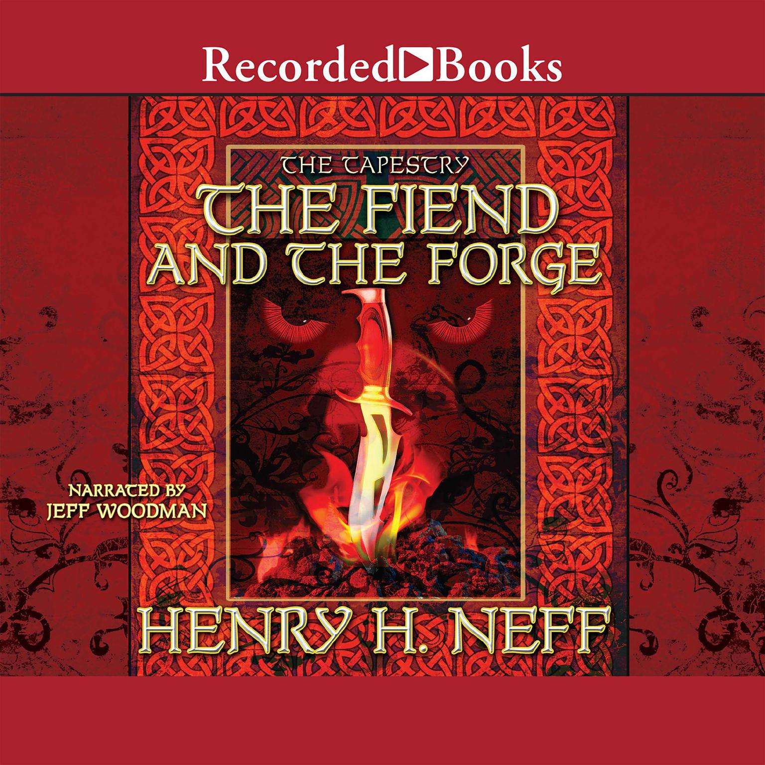 Printable The Fiend and the Forge Audiobook Cover Art