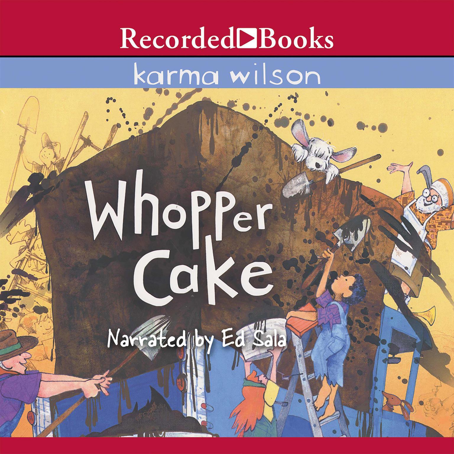 Printable Whopper Cake Audiobook Cover Art