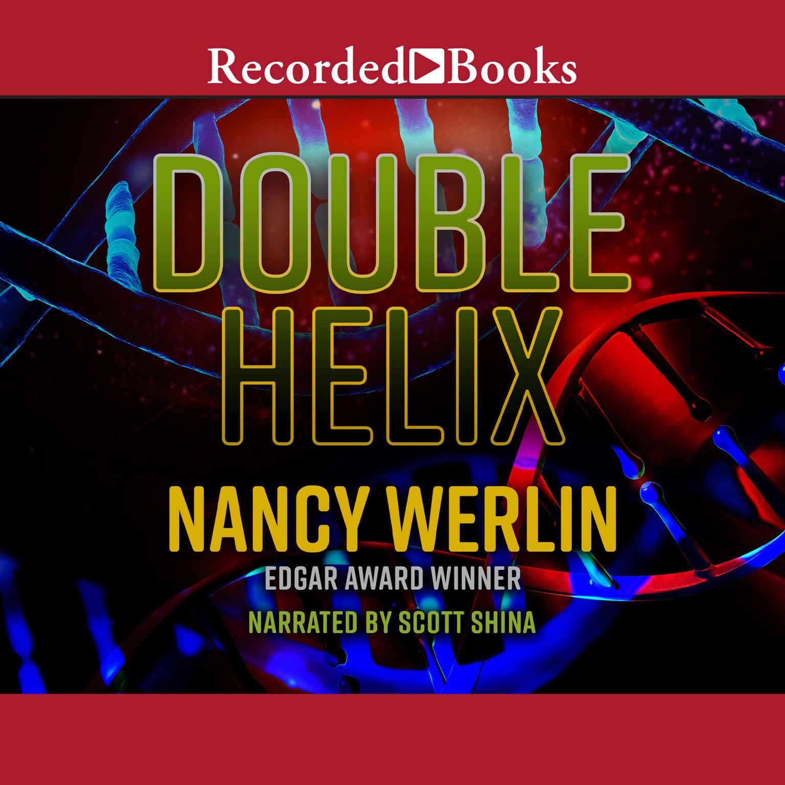 Printable Double Helix Audiobook Cover Art