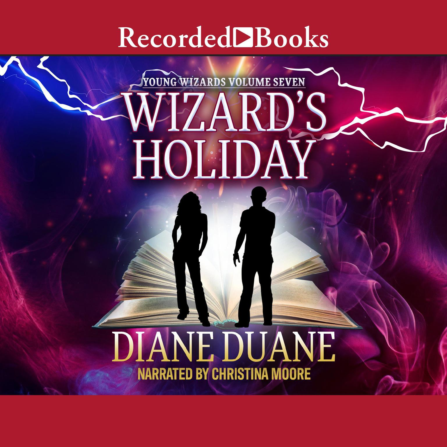 Printable Wizard's Holiday Audiobook Cover Art