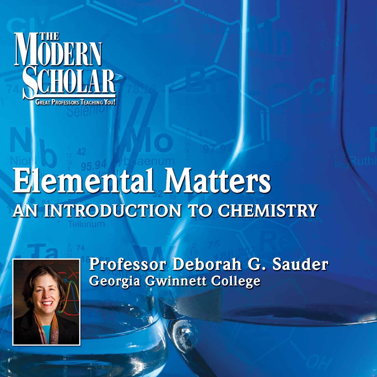 Printable Elemental Matters: An Introduction to Chemistry Audiobook Cover Art