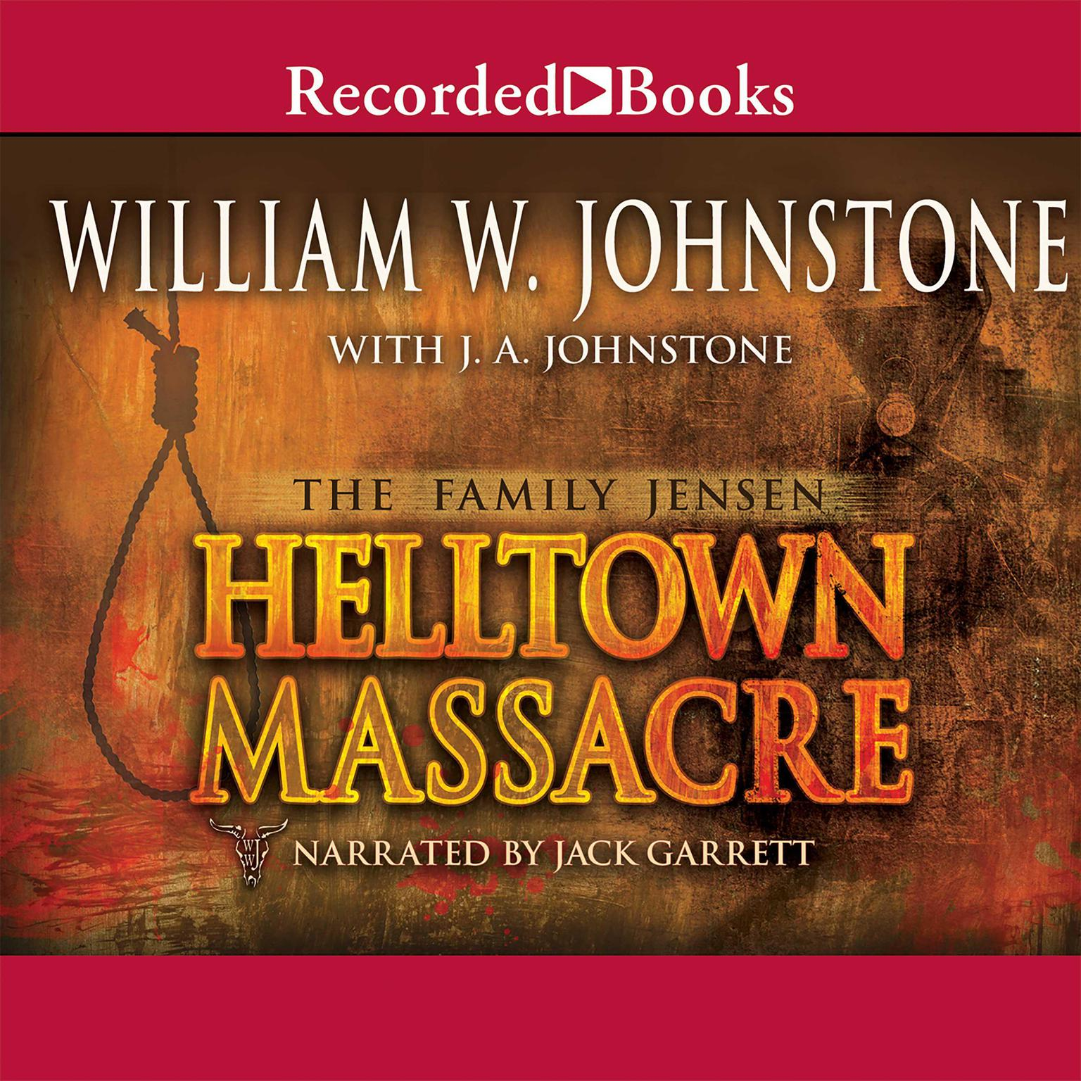 Printable Helltown Massacre Audiobook Cover Art