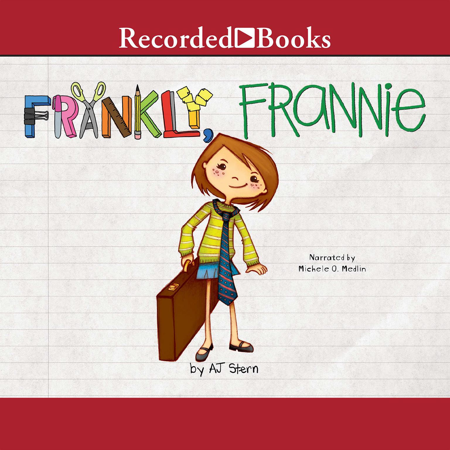 Printable Frankly, Frannie Audiobook Cover Art