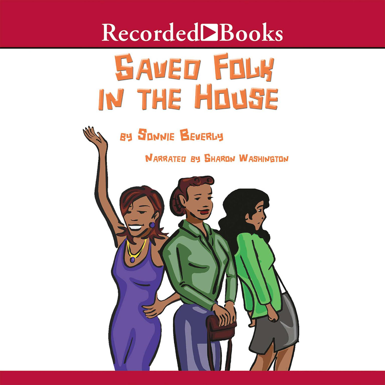Printable Saved Folk in the House Audiobook Cover Art
